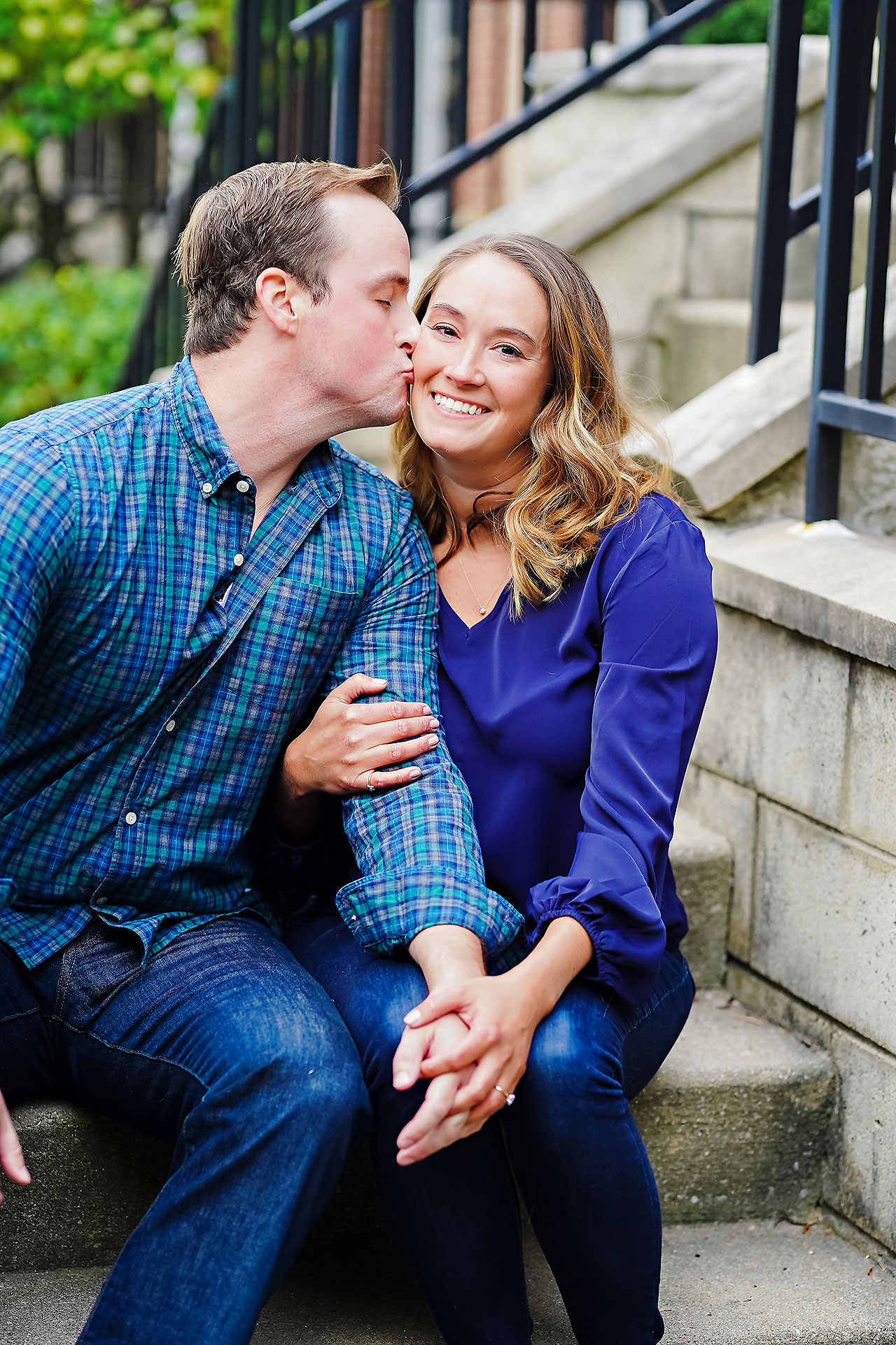 Maddie Zach Broad Ripple Engagement Session 053