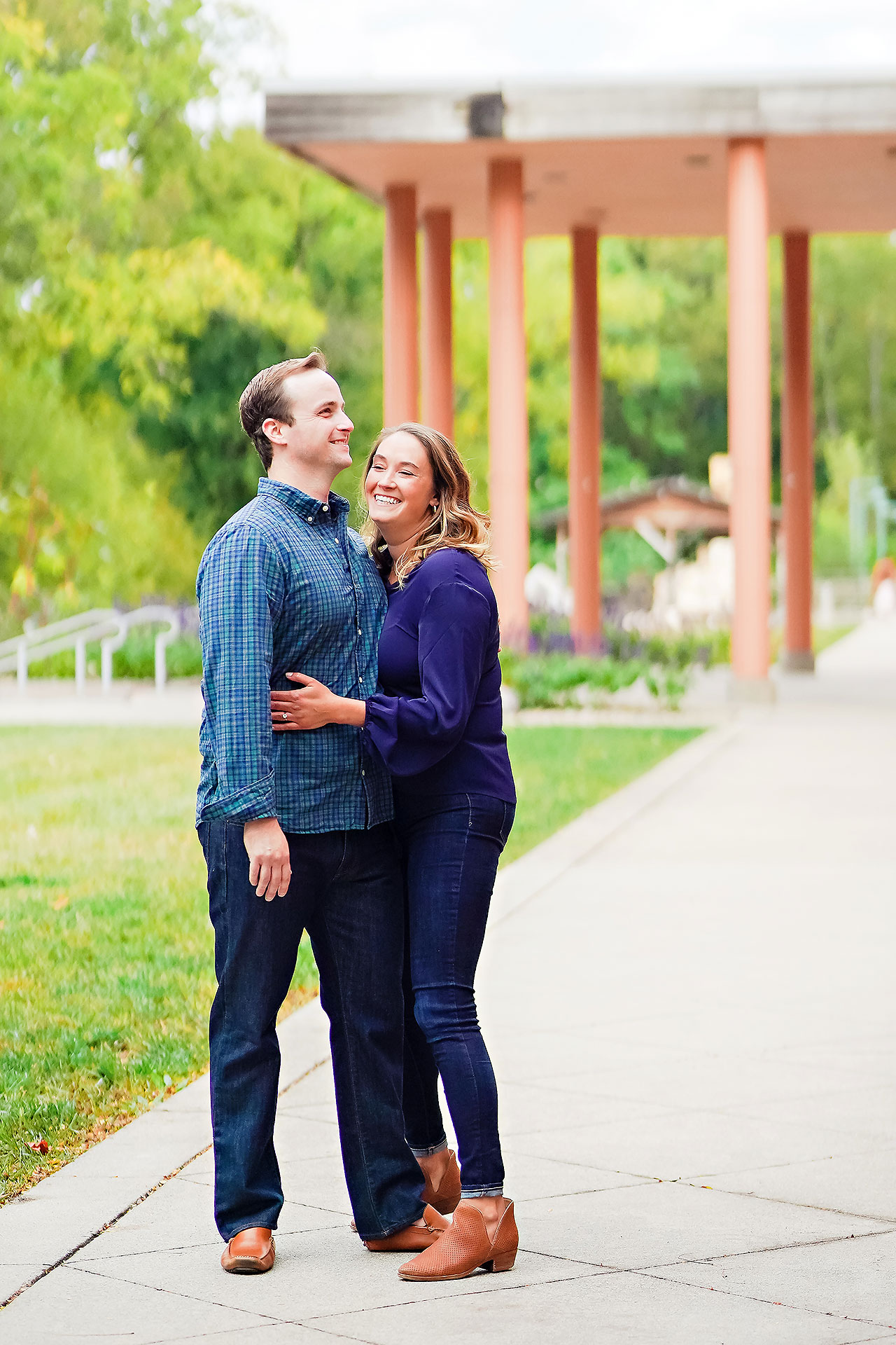 Maddie Zach Broad Ripple Engagement Session 047