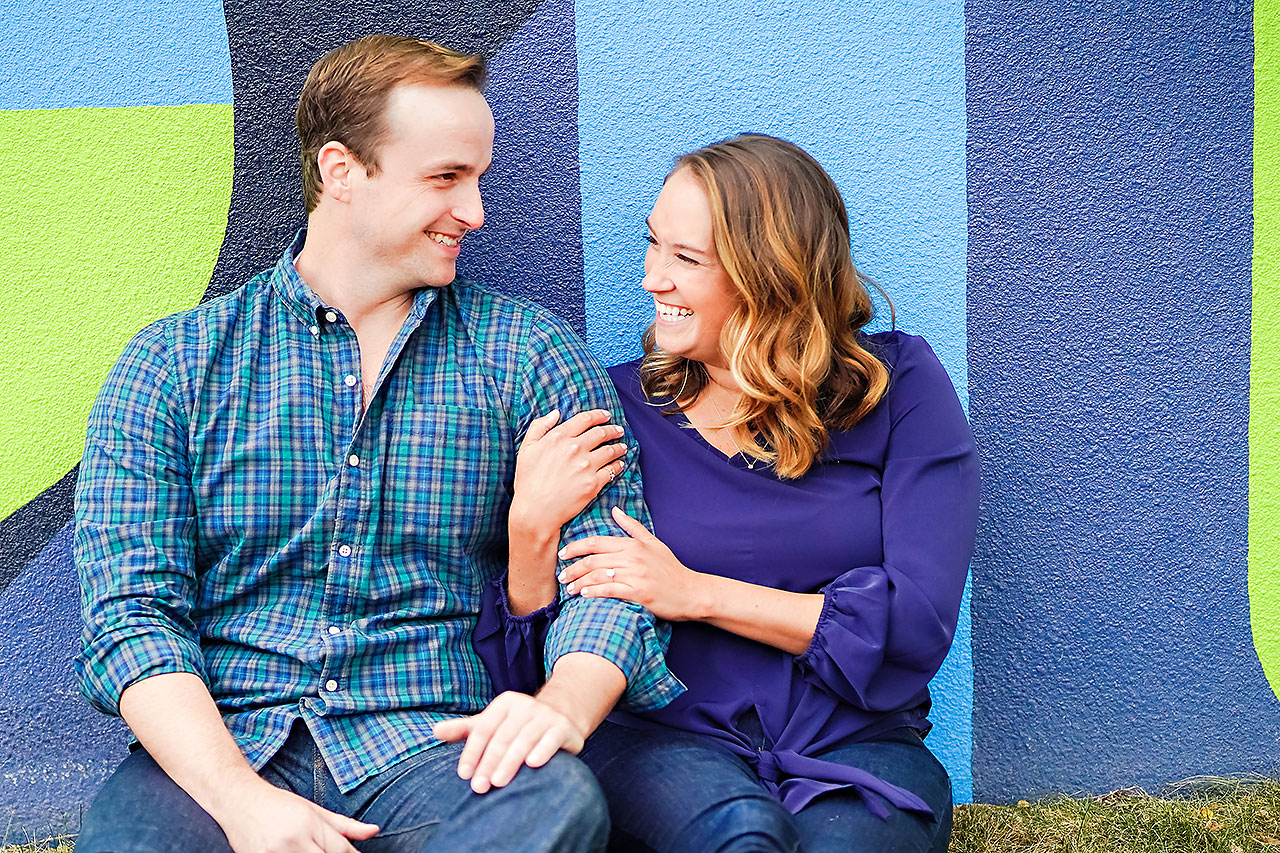 Maddie Zach Broad Ripple Engagement Session 038