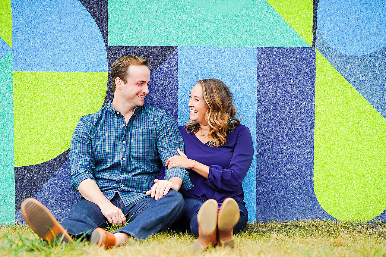 MADDIE + ZACH | BROAD RIPPLE ENGAGEMENT SESSION