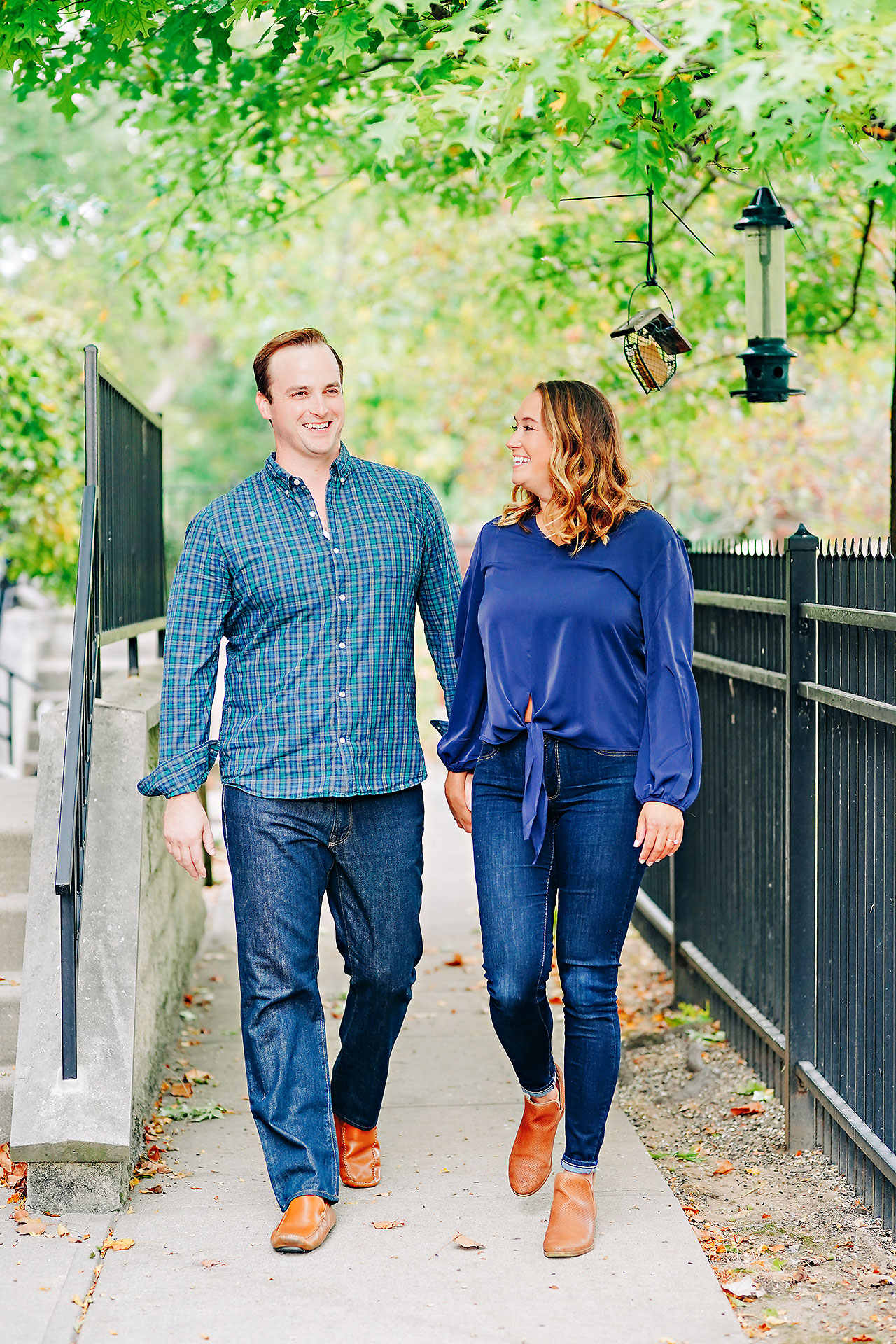 Maddie Zach Broad Ripple Engagement Session 017