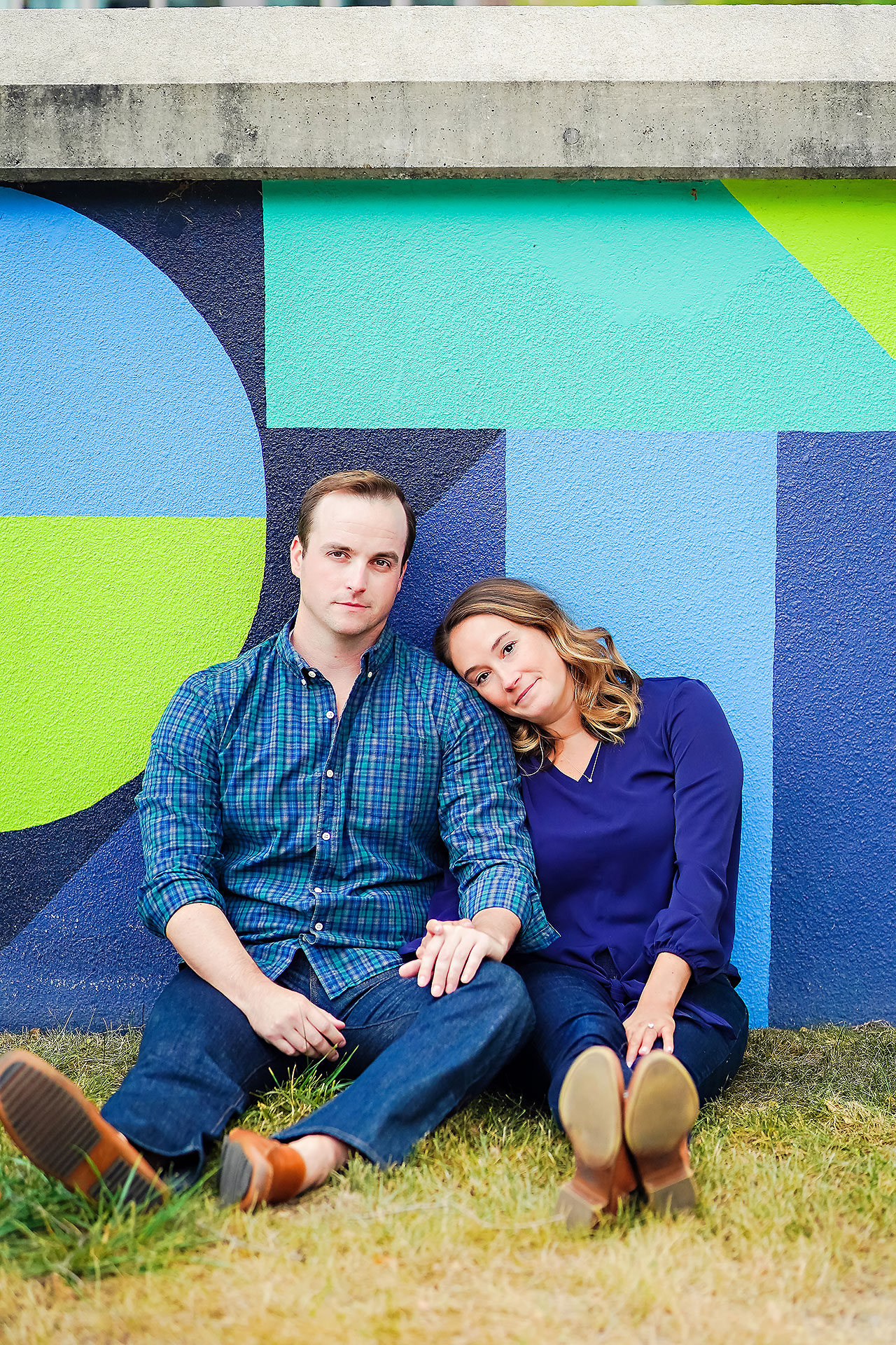 Maddie Zach Broad Ripple Engagement Session 007