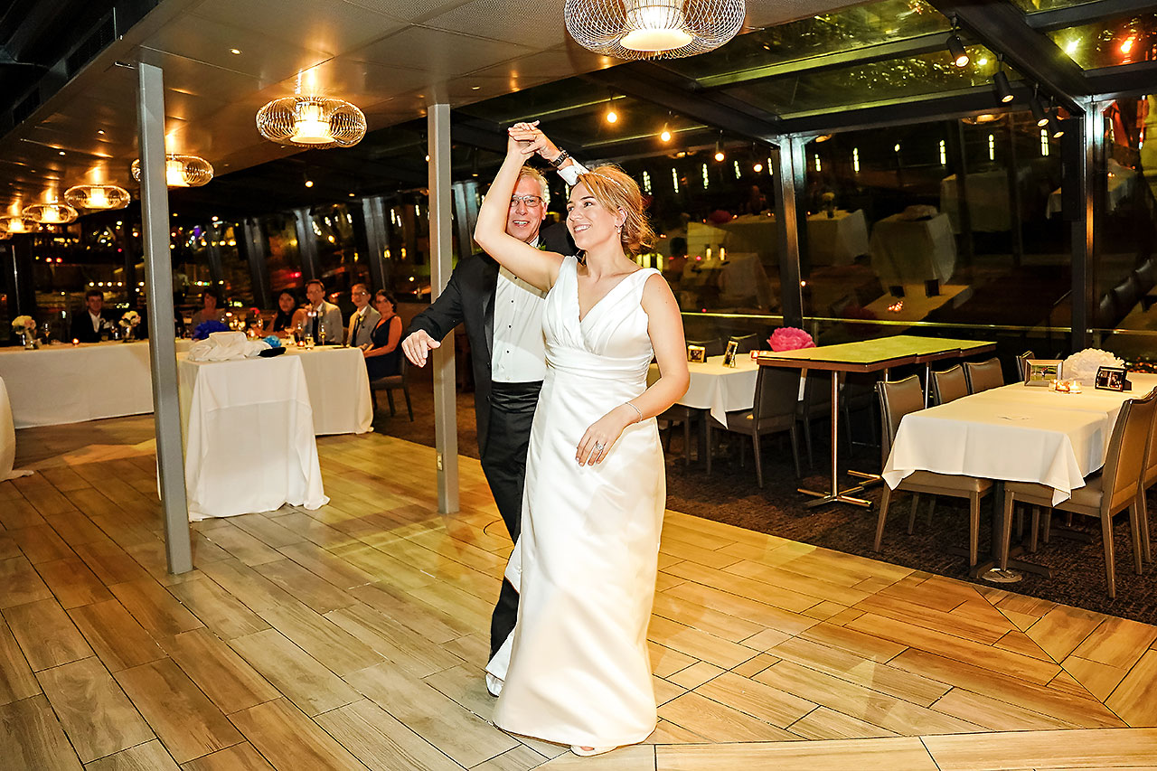Jaclyn Matt Odessy Chicago River Cruise Wedding 266