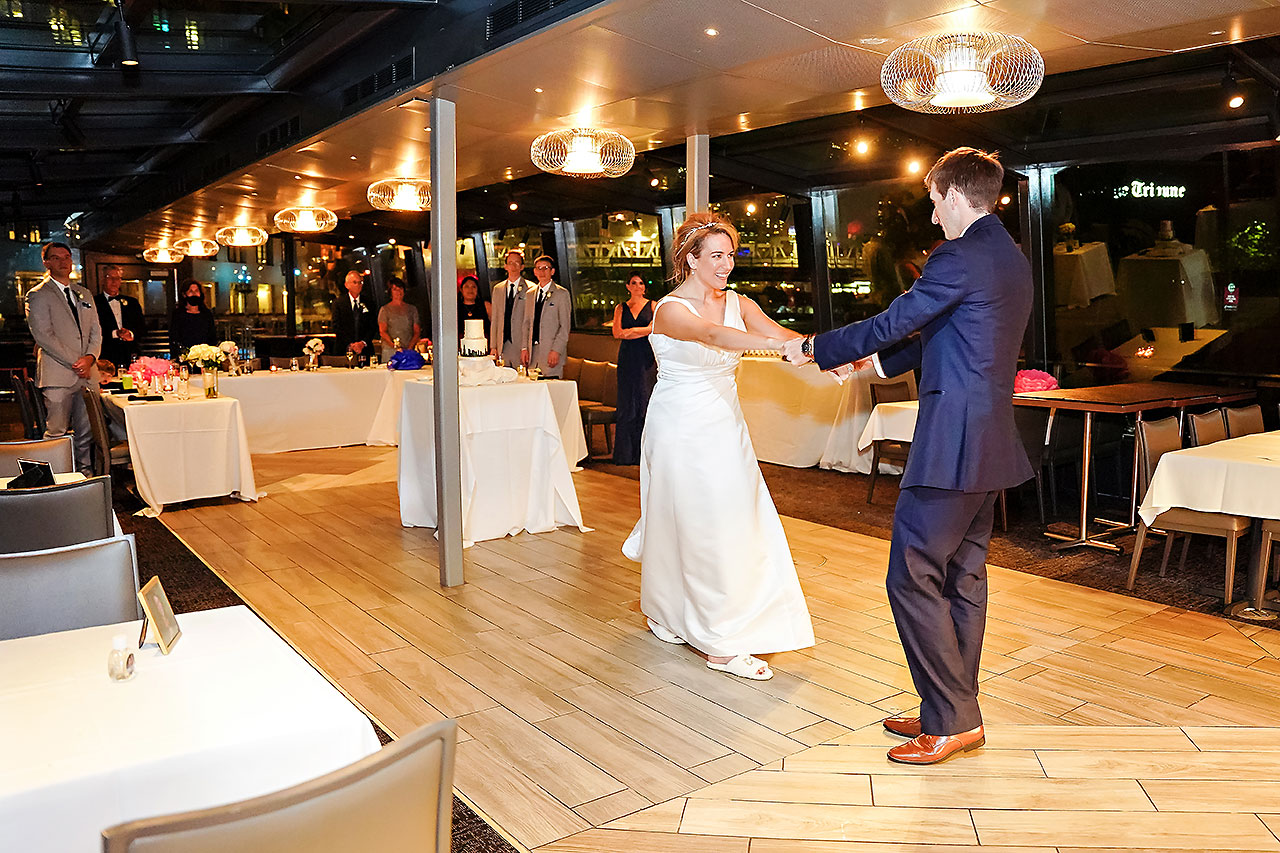 Jaclyn Matt Odessy Chicago River Cruise Wedding 240