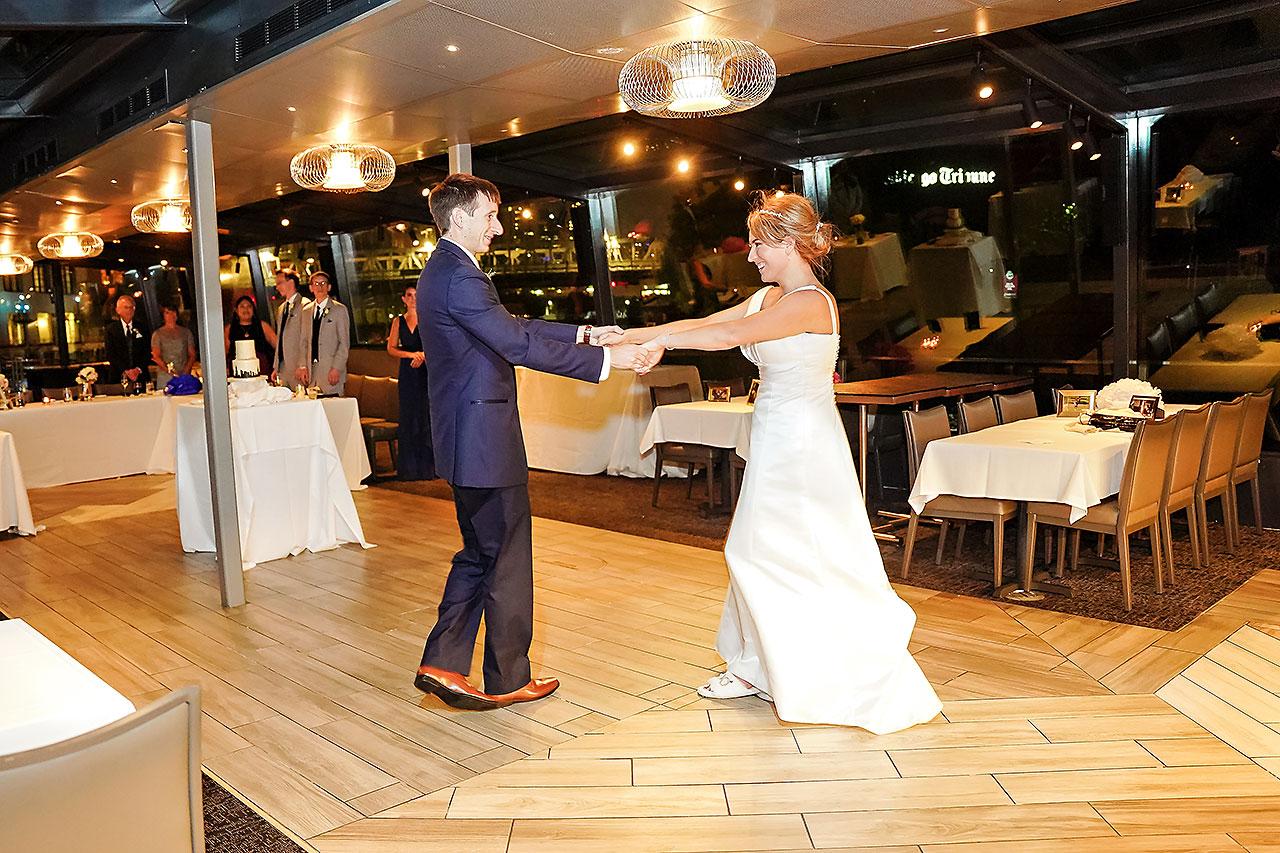 Jaclyn Matt Odessy Chicago River Cruise Wedding 241