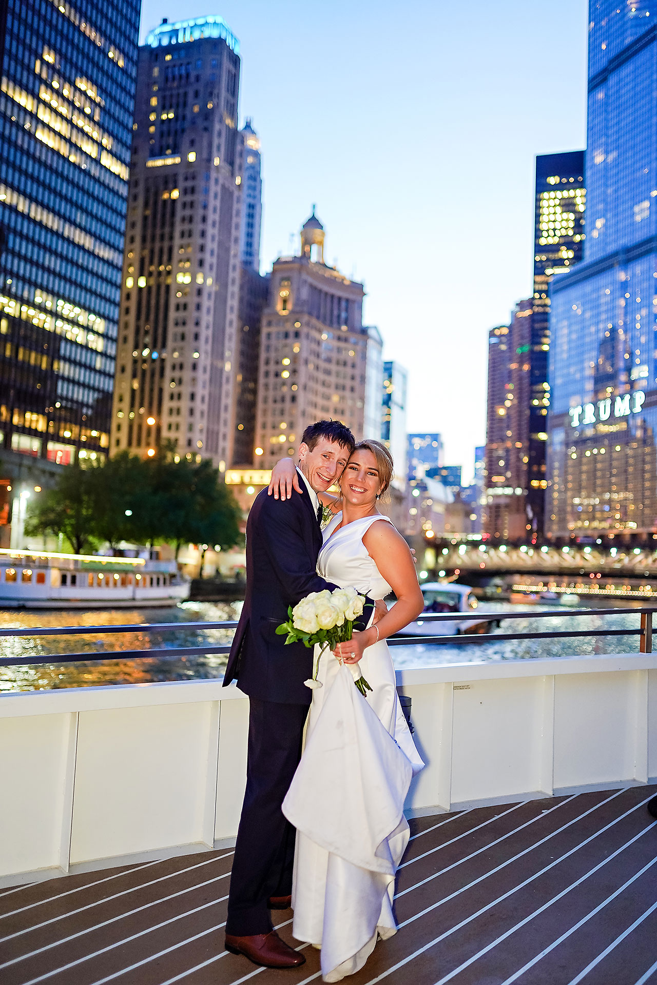 Jaclyn Matt Odessy Chicago River Cruise Wedding 222