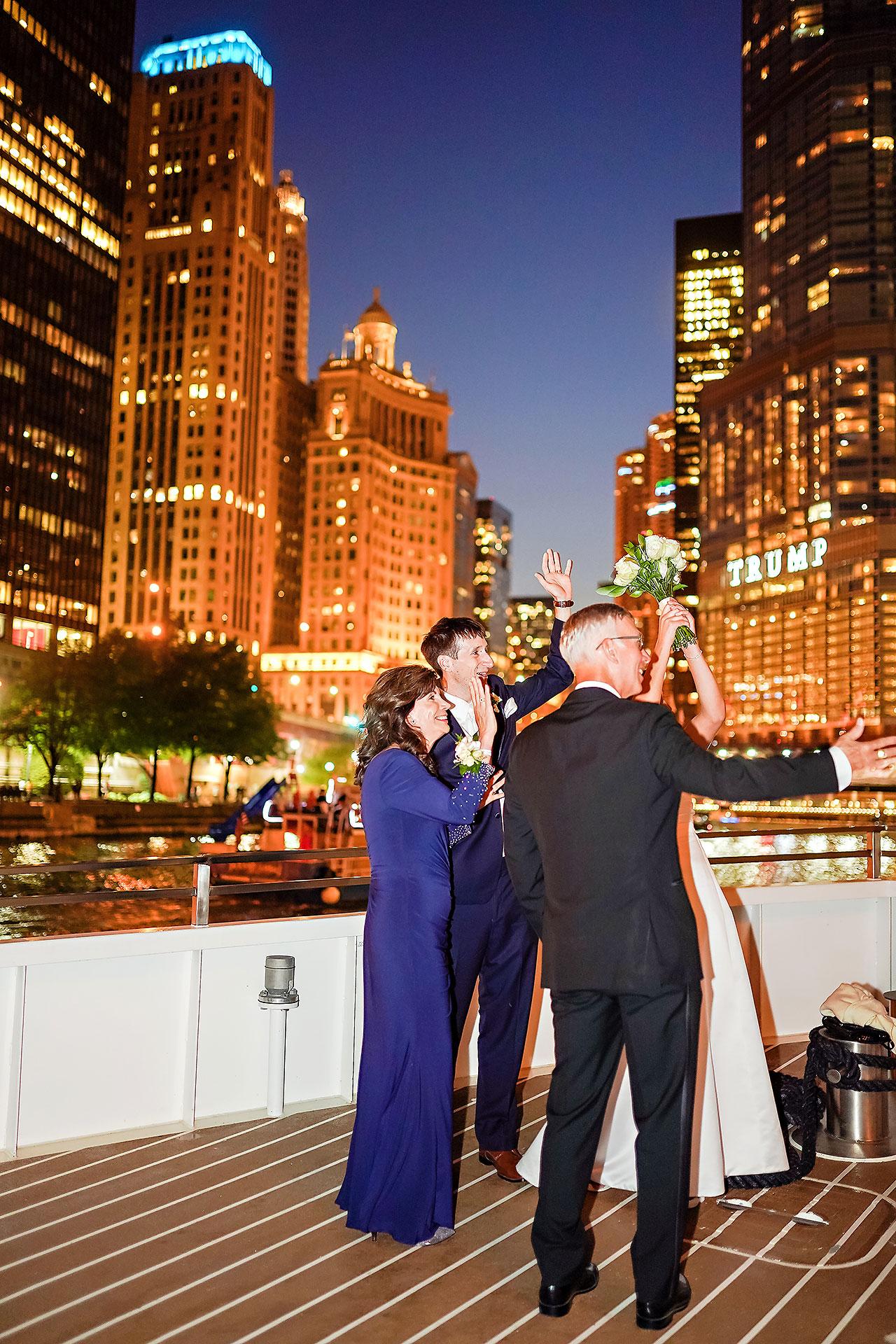 Jaclyn Matt Odessy Chicago River Cruise Wedding 220