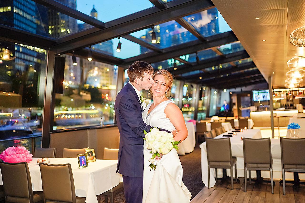 Jaclyn Matt Odessy Chicago River Cruise Wedding 218