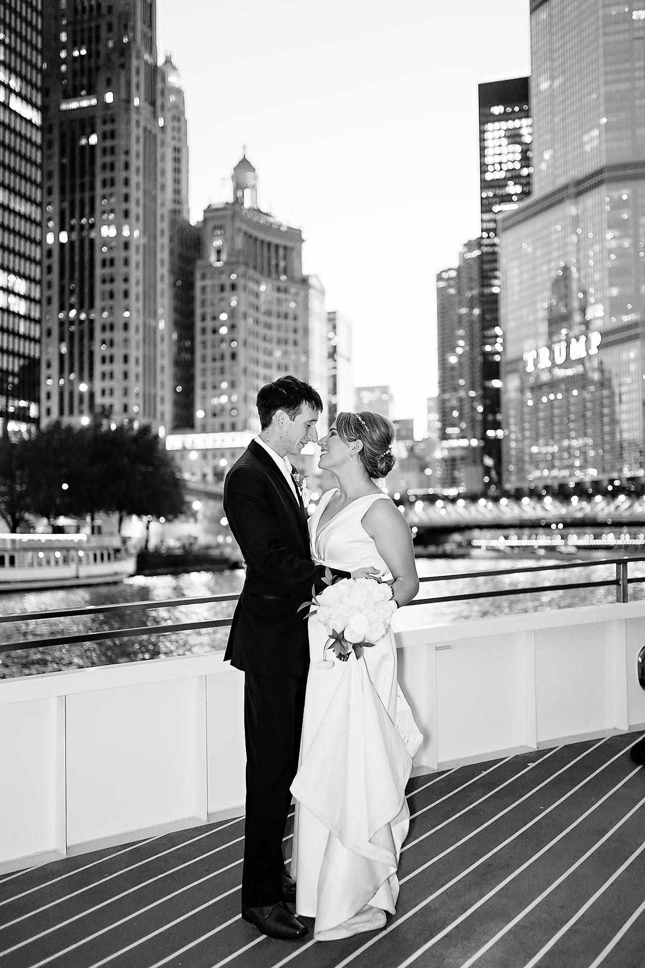 Jaclyn Matt Odessy Chicago River Cruise Wedding 214