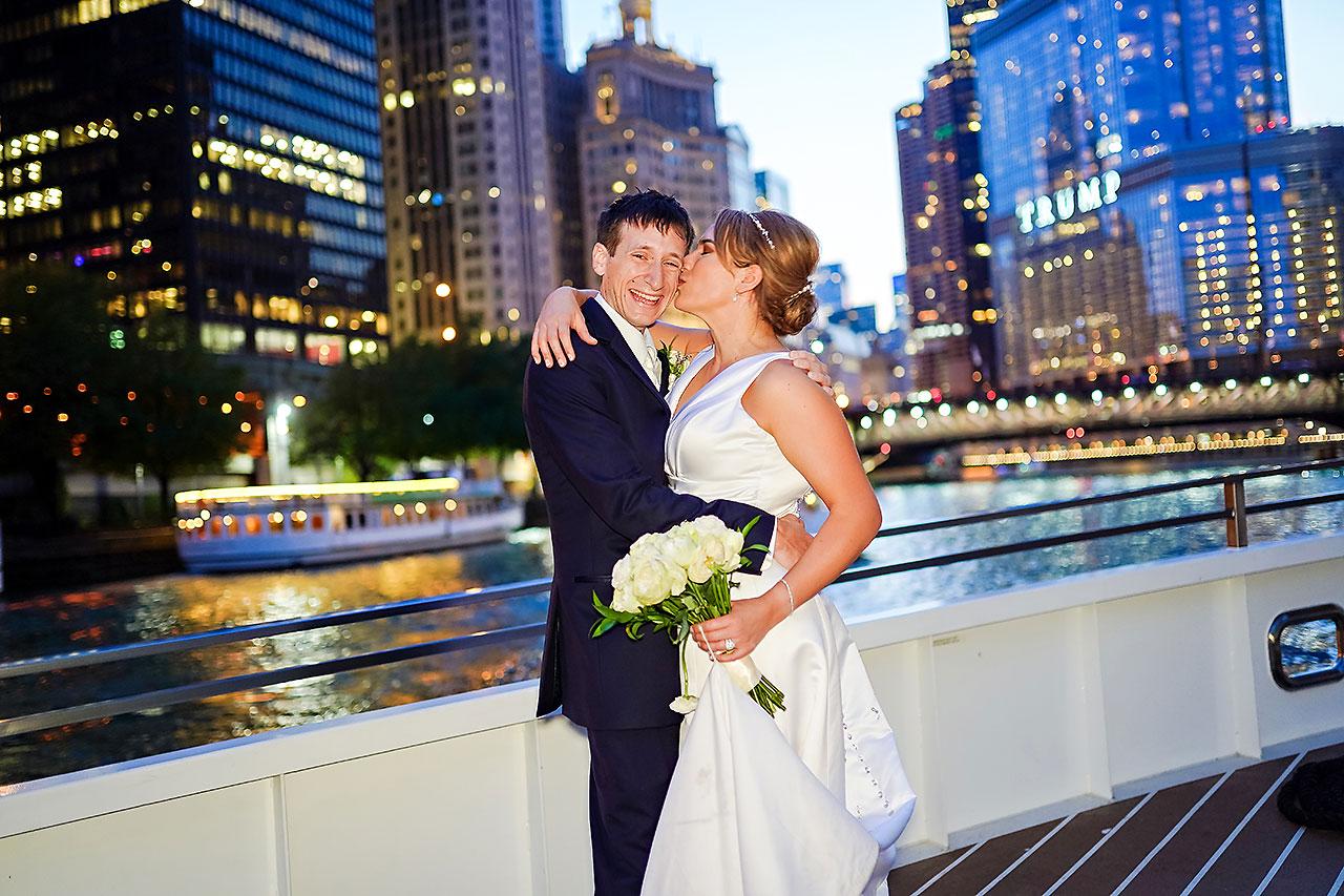 Jaclyn Matt Odessy Chicago River Cruise Wedding 216