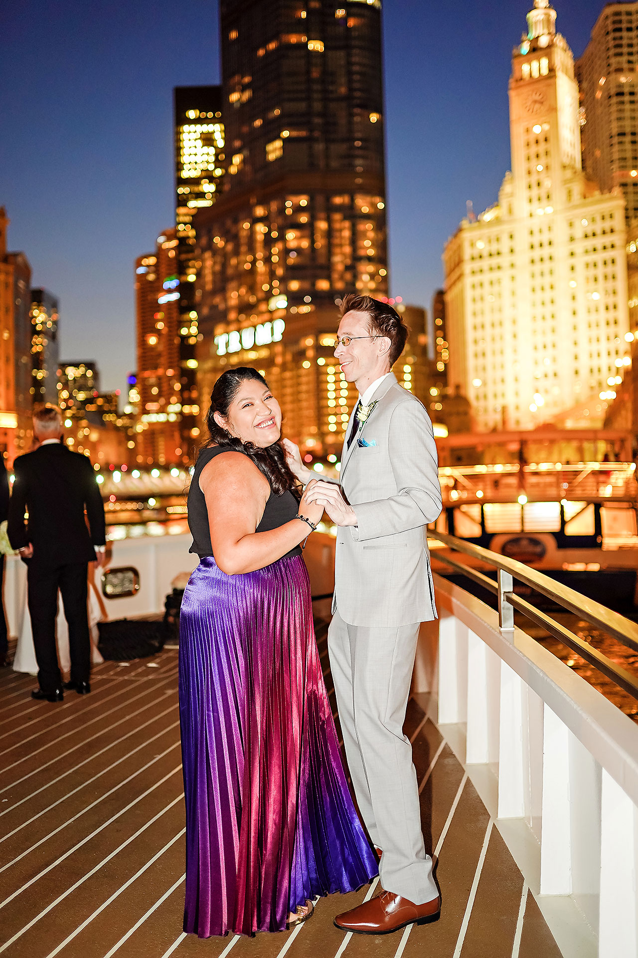 Jaclyn Matt Odessy Chicago River Cruise Wedding 213