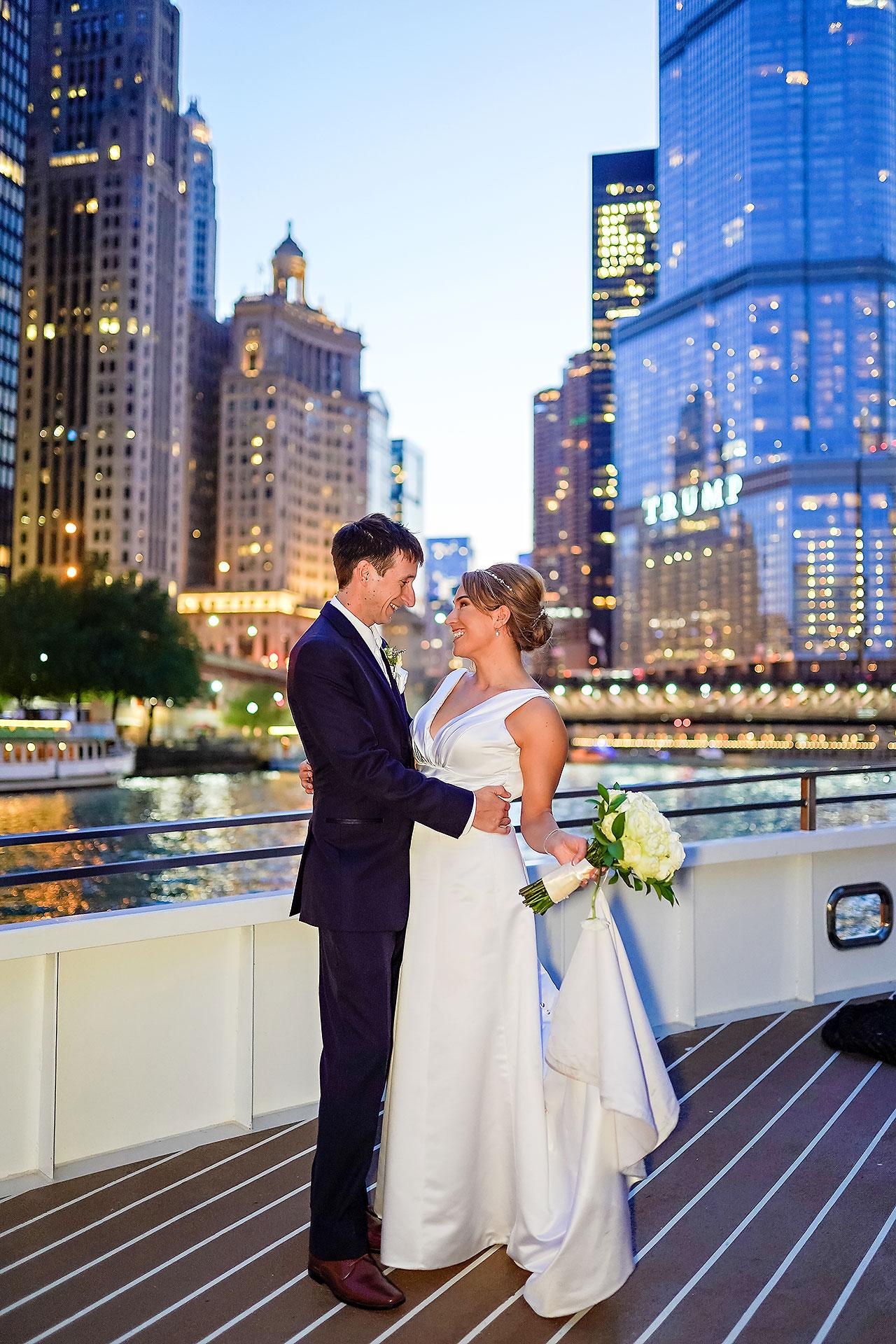 Jaclyn Matt Odessy Chicago River Cruise Wedding 210