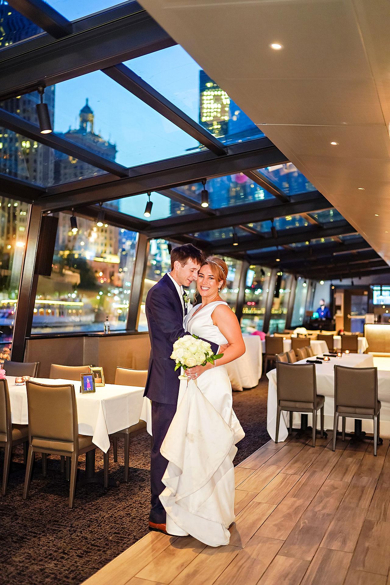 Jaclyn Matt Odessy Chicago River Cruise Wedding 211