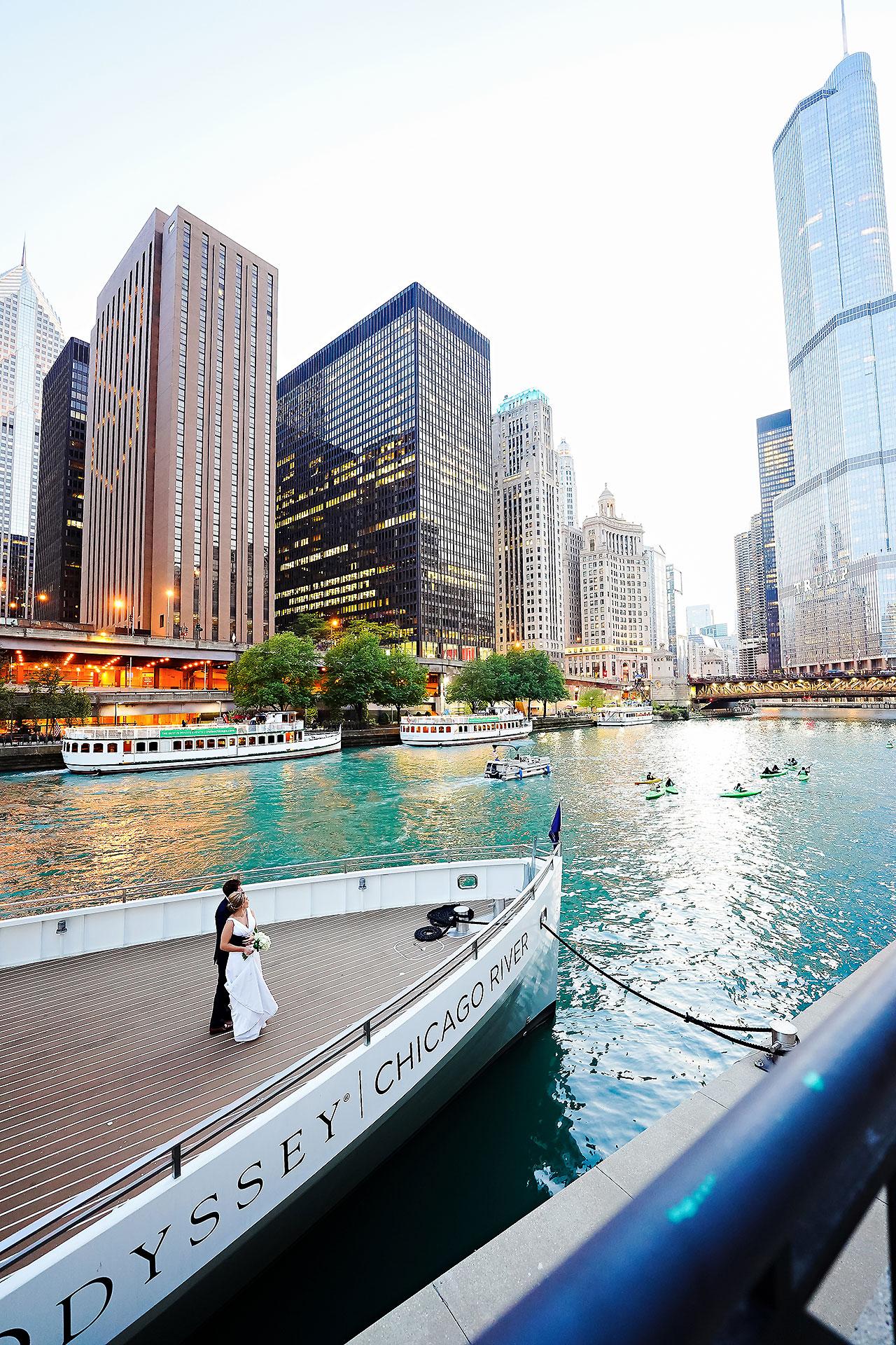 Jaclyn Matt Odessy Chicago River Cruise Wedding 209