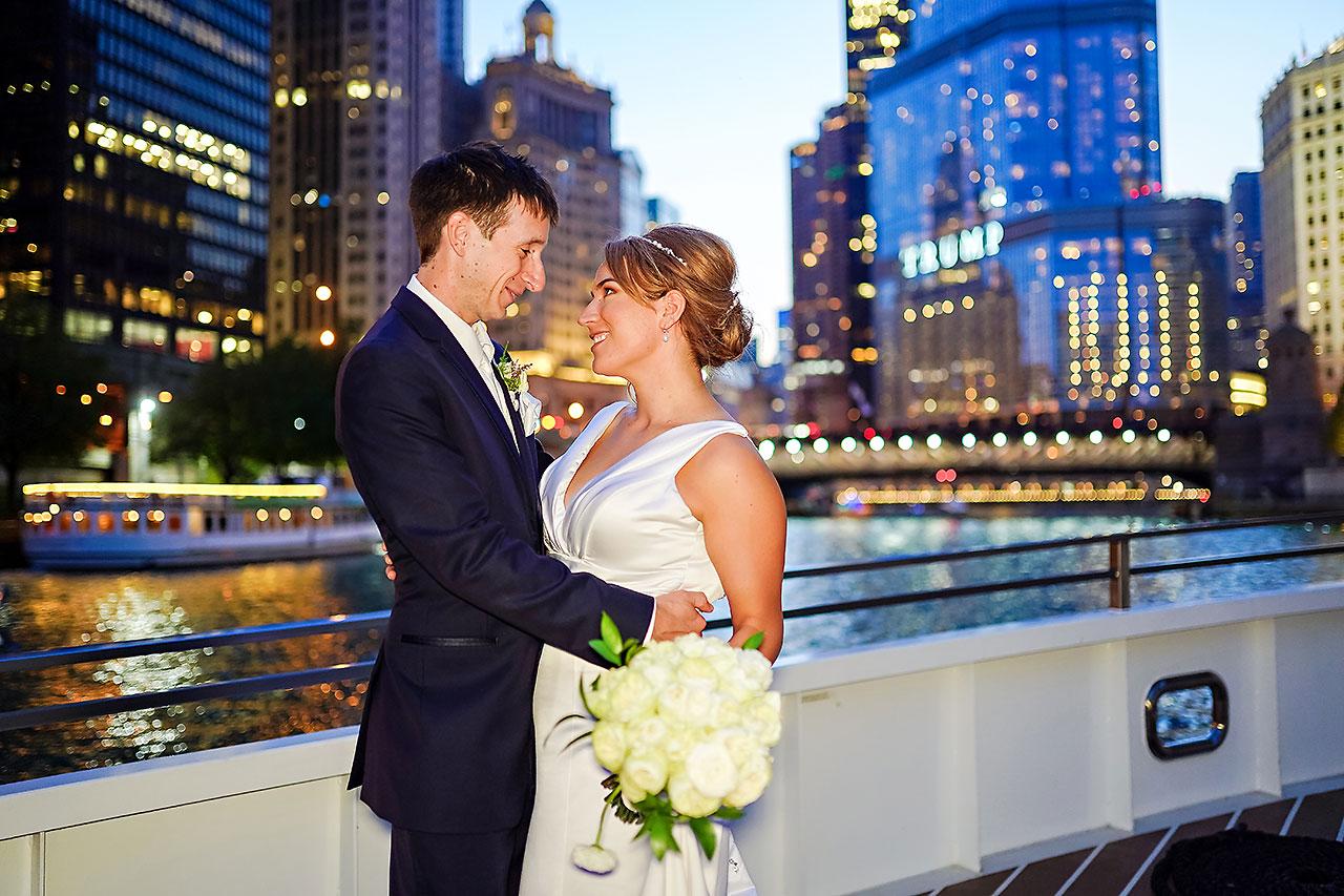 Jaclyn Matt Odessy Chicago River Cruise Wedding 206