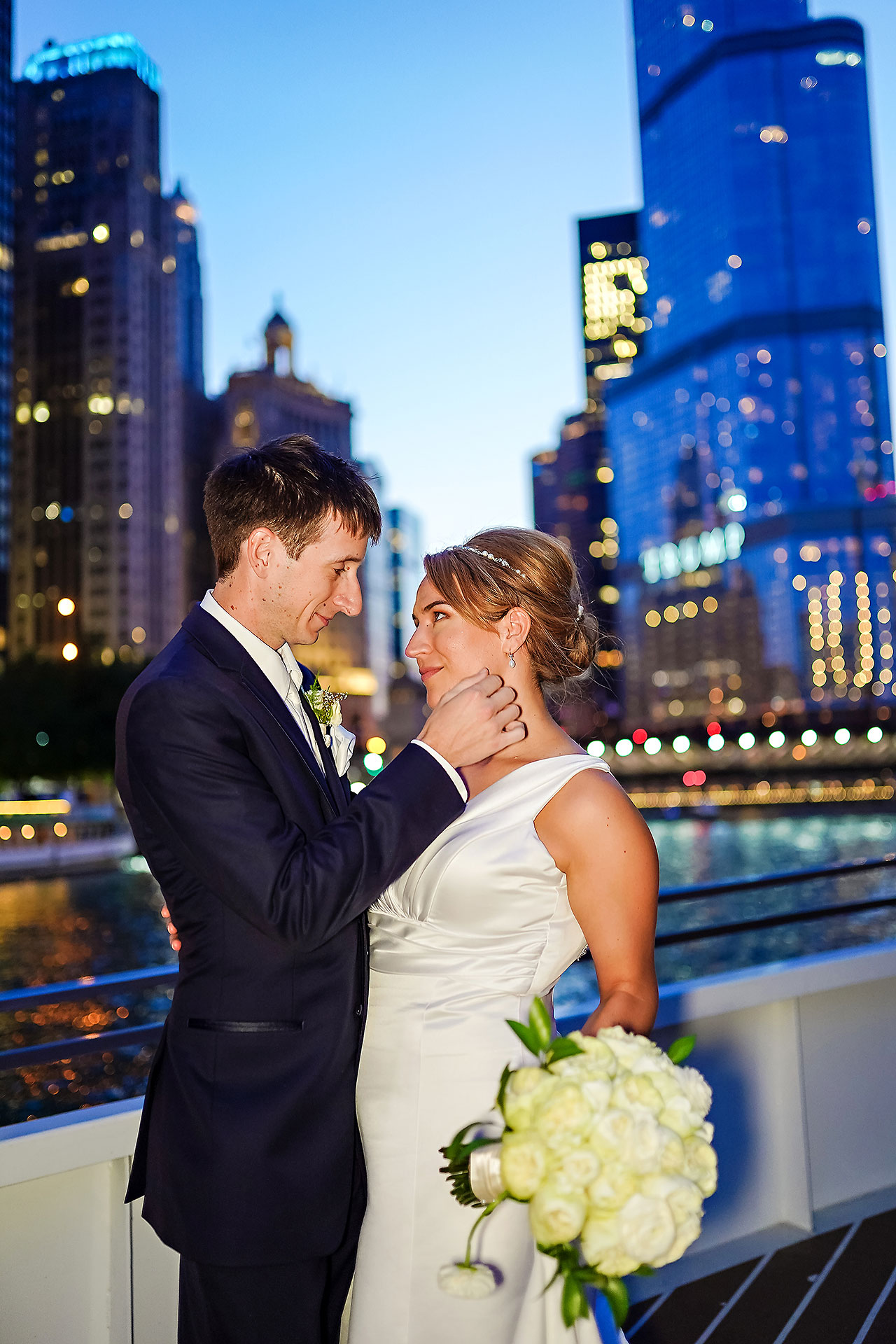 Jaclyn Matt Odessy Chicago River Cruise Wedding 208