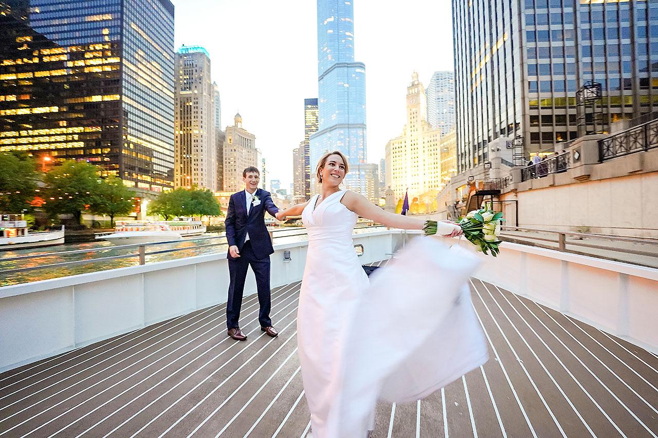 Jaclyn Matt Odessy Chicago River Cruise Wedding 205