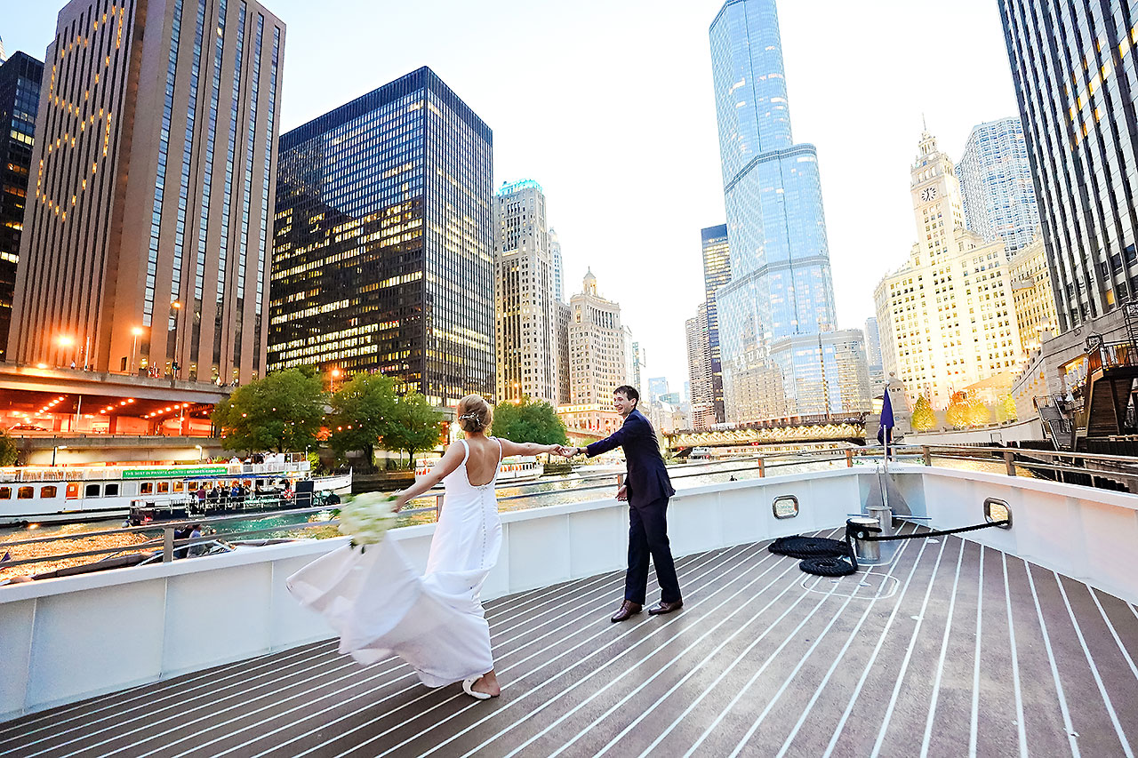 Jaclyn Matt Odessy Chicago River Cruise Wedding 203