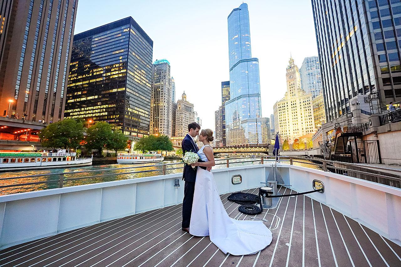 Jaclyn Matt Odessy Chicago River Cruise Wedding 201