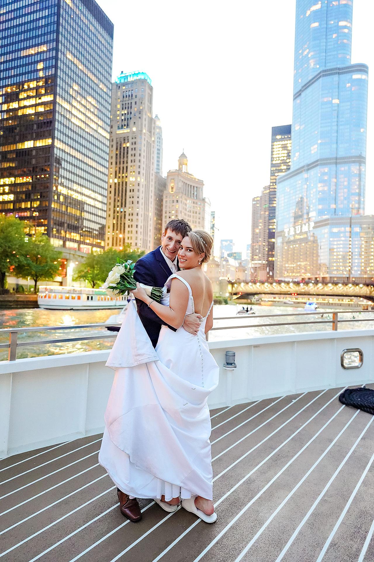 Jaclyn Matt Odessy Chicago River Cruise Wedding 196