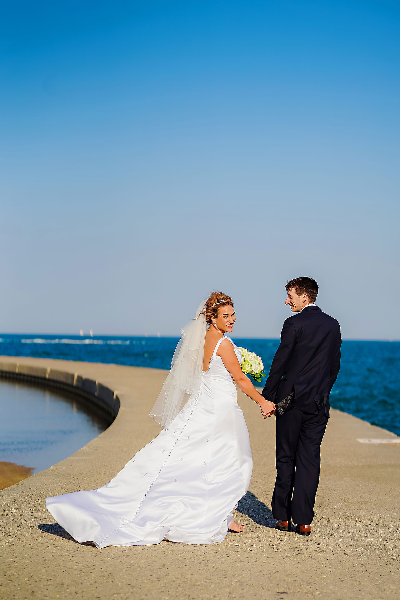 Jaclyn Matt Odessy Chicago River Cruise Wedding 099