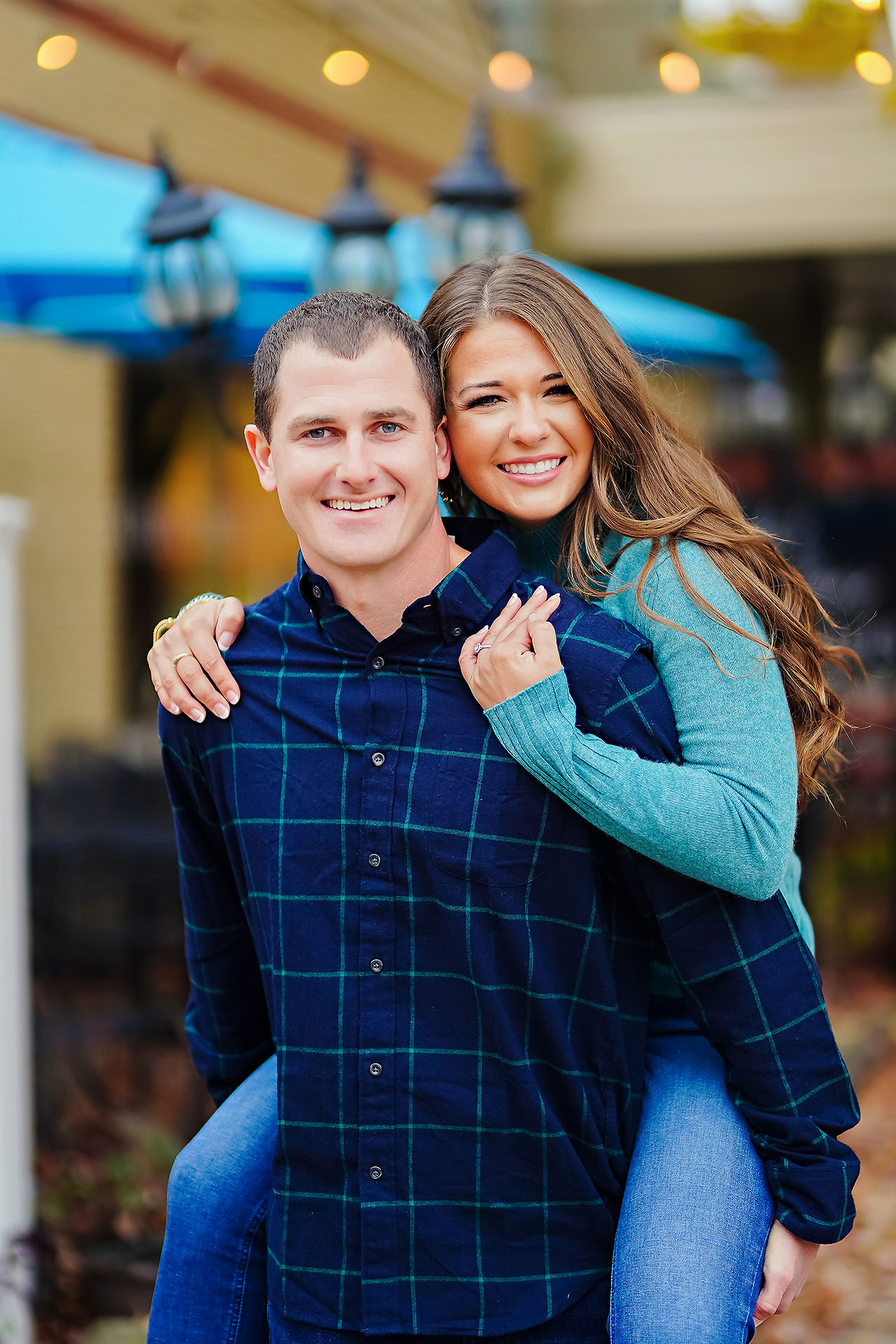 Sarah Andrew Holcomb Gardens Zionsville Engagement Session 114