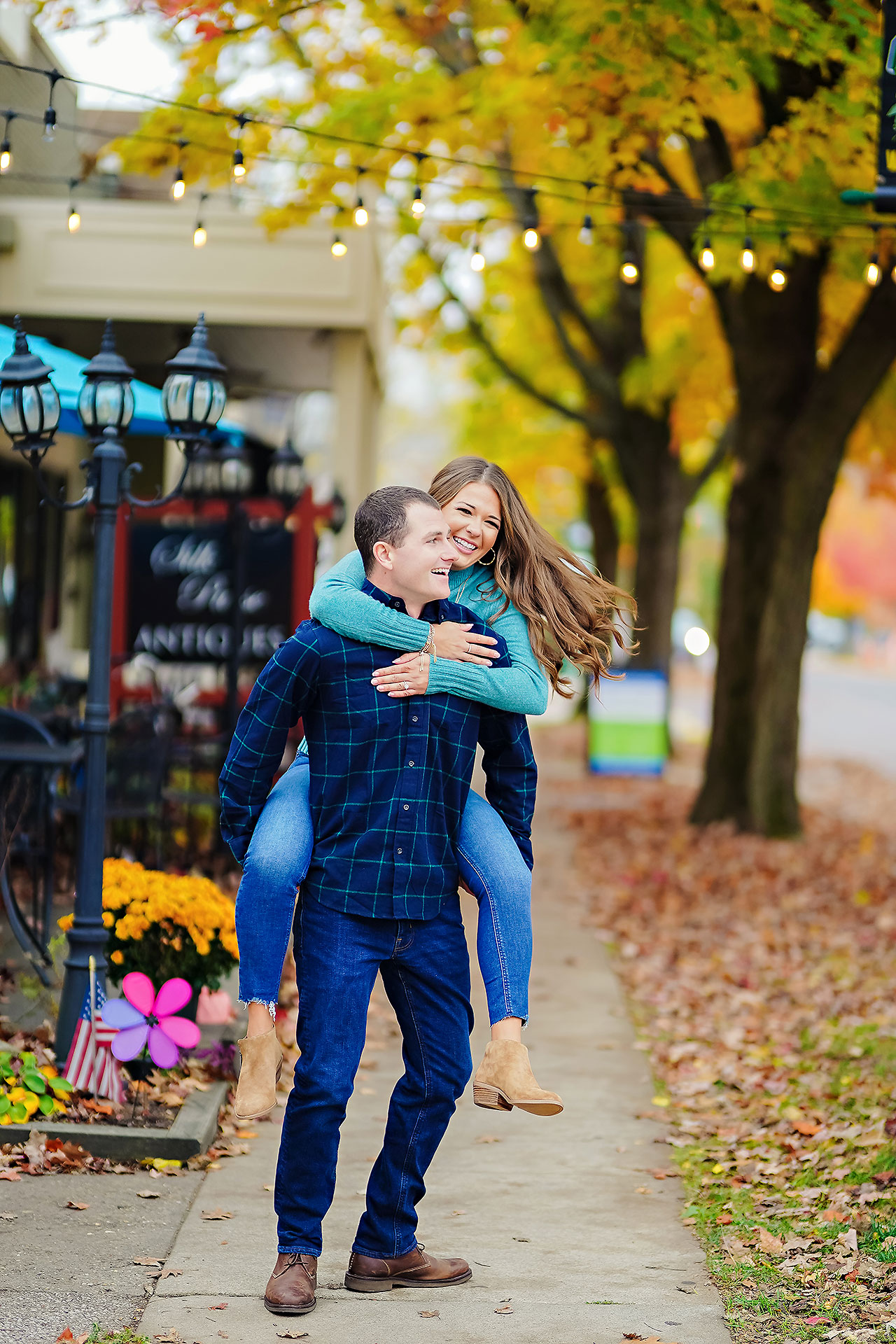 Sarah Andrew Holcomb Gardens Zionsville Engagement Session 105