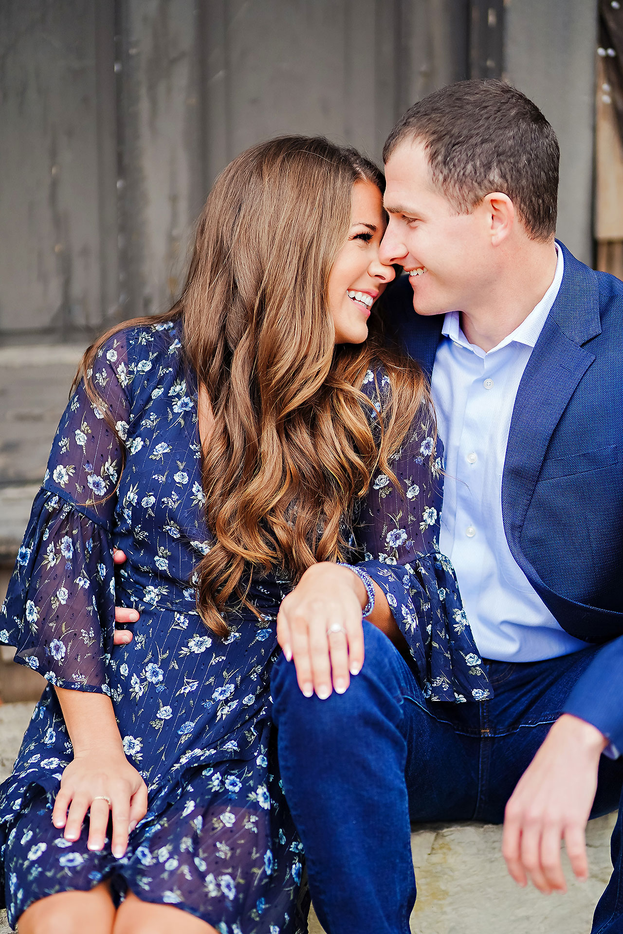 Sarah Andrew Holcomb Gardens Zionsville Engagement Session 081
