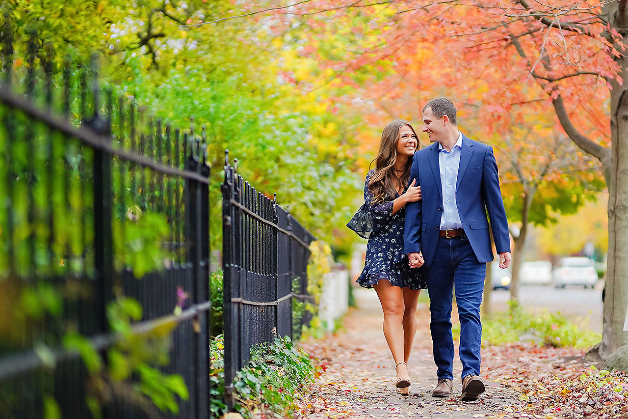 SARAH + ANDREW | HOLCOMB GARDENS + ZIONSVILLE ENGAGEMENT SESSION