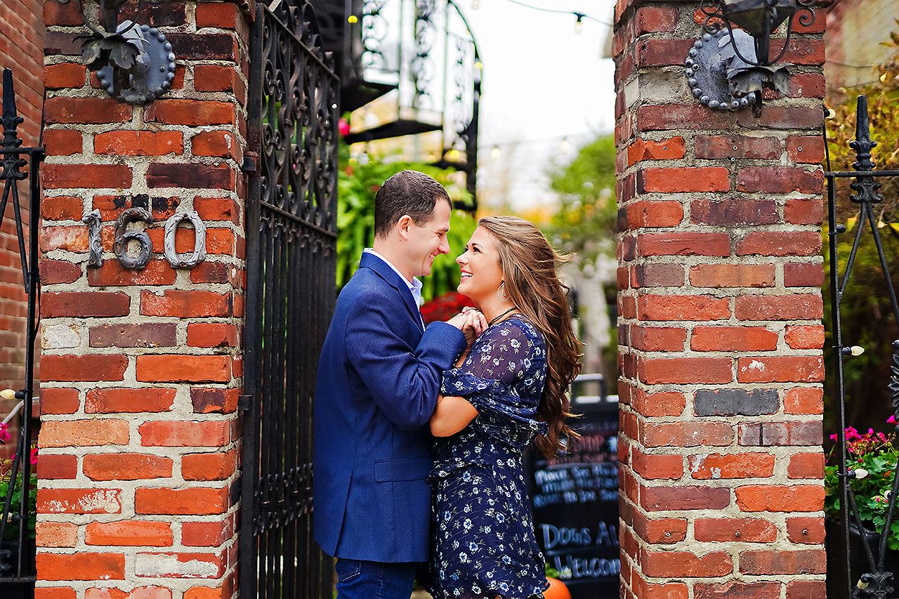 Sarah Andrew Holcomb Gardens Zionsville Engagement Session 076