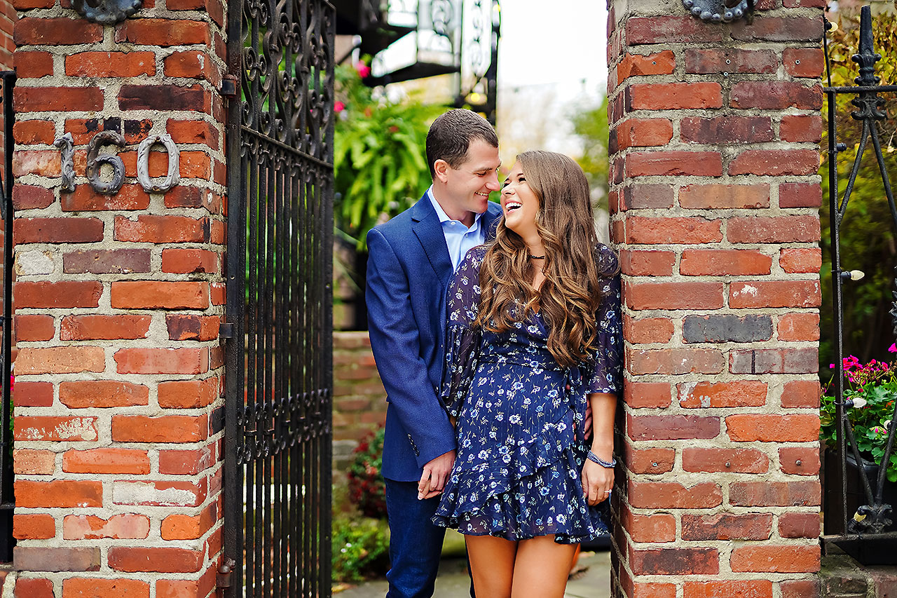 Sarah Andrew Holcomb Gardens Zionsville Engagement Session 074