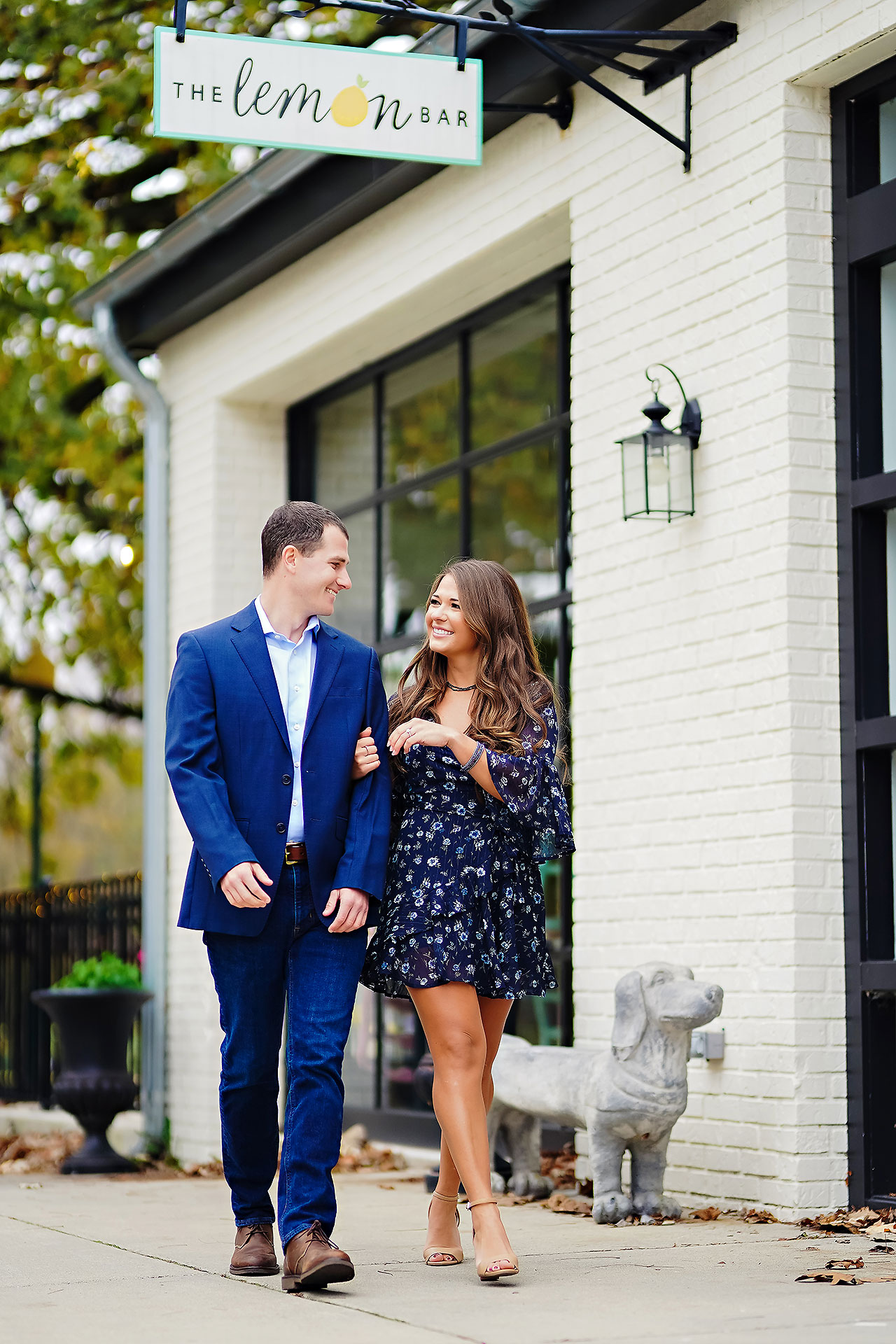 Sarah Andrew Holcomb Gardens Zionsville Engagement Session 071