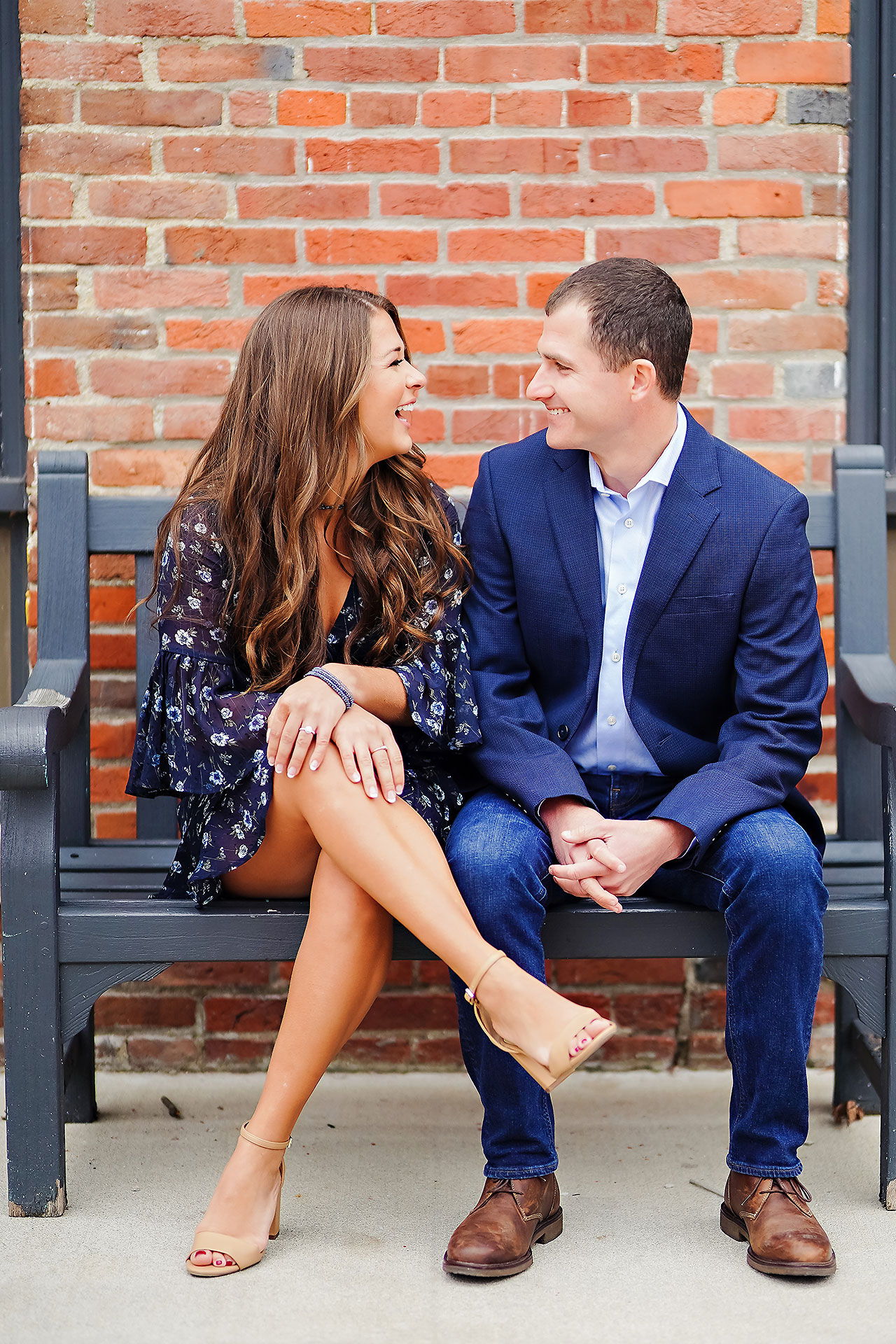 Sarah Andrew Holcomb Gardens Zionsville Engagement Session 069