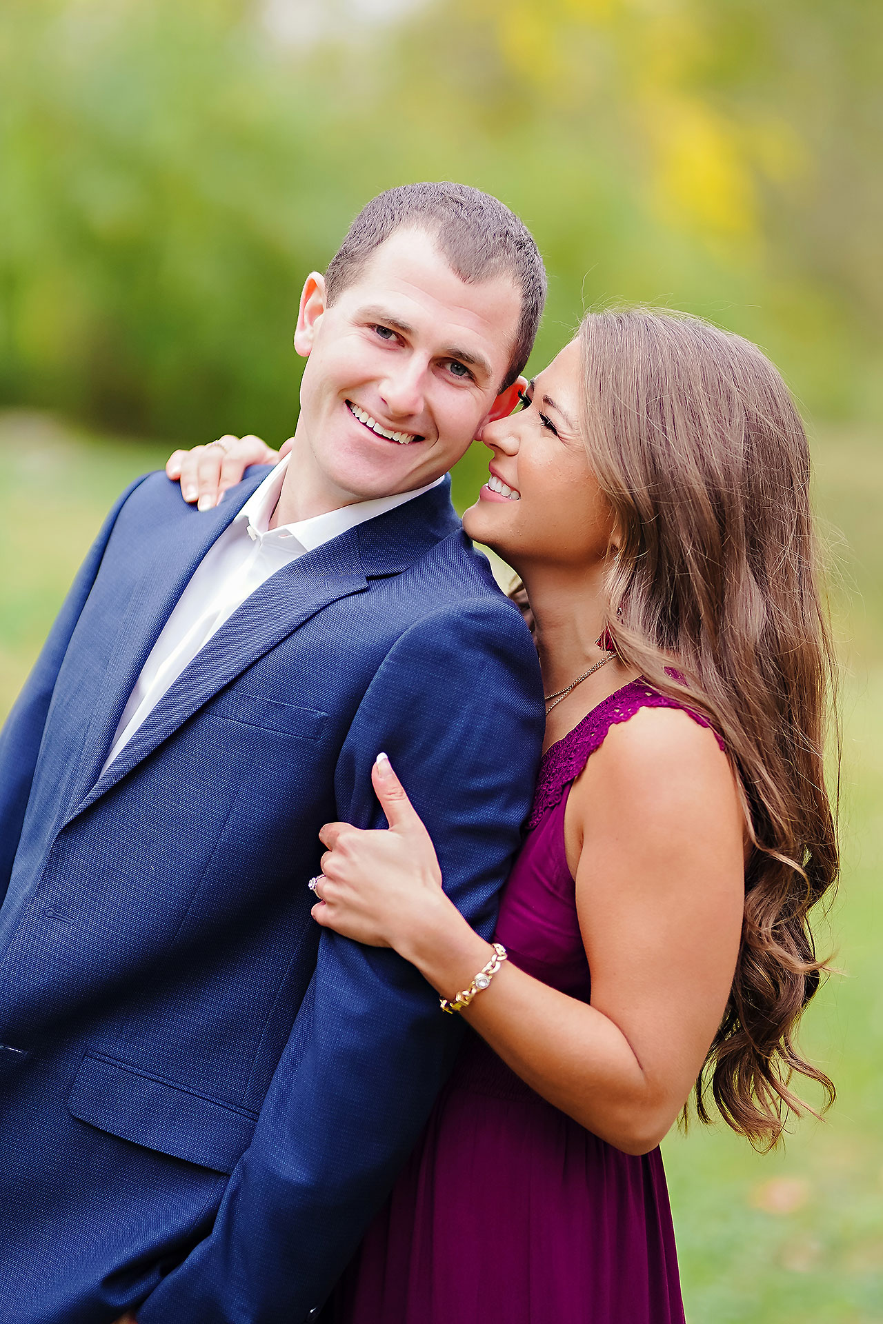 Sarah Andrew Holcomb Gardens Zionsville Engagement Session 048