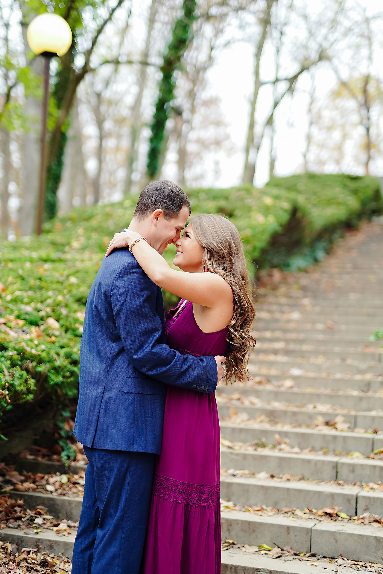 Sarah Andrew Holcomb Gardens Zionsville Engagement Session 047