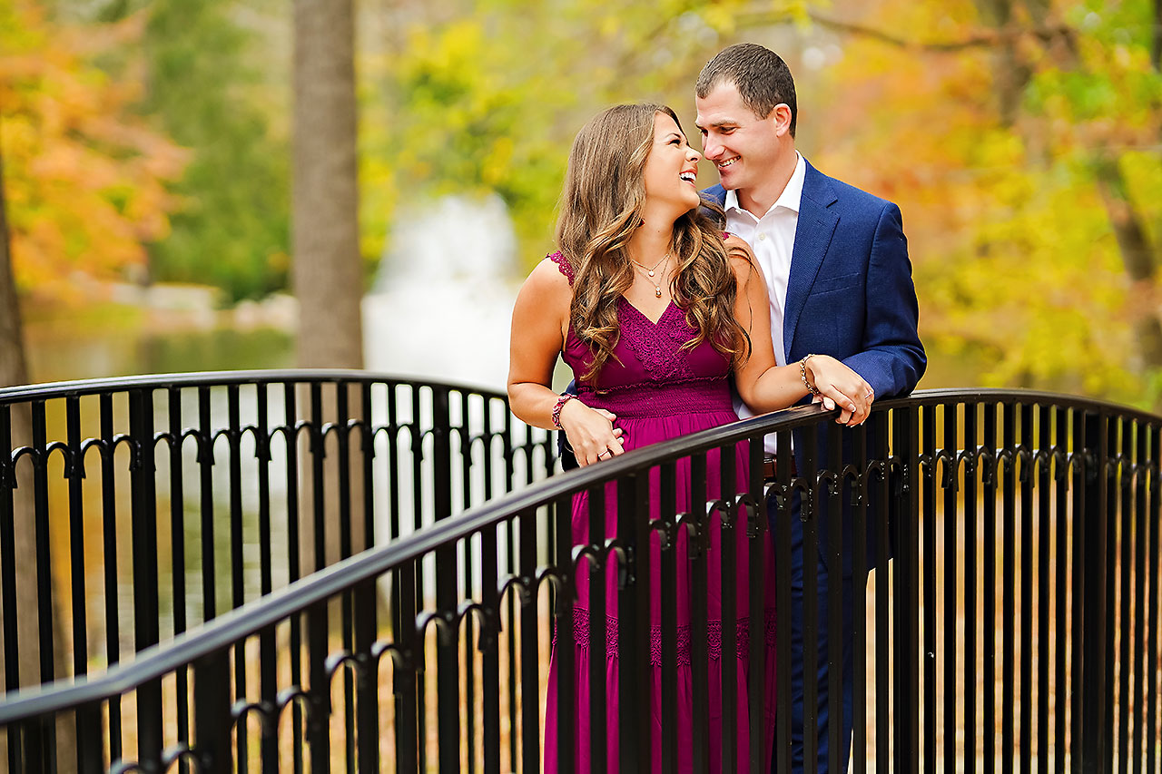 Sarah Andrew Holcomb Gardens Zionsville Engagement Session 023
