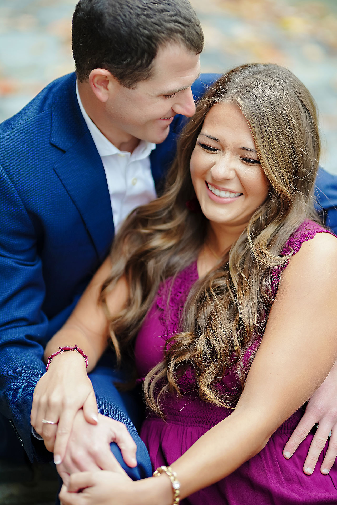 Sarah Andrew Holcomb Gardens Zionsville Engagement Session 018