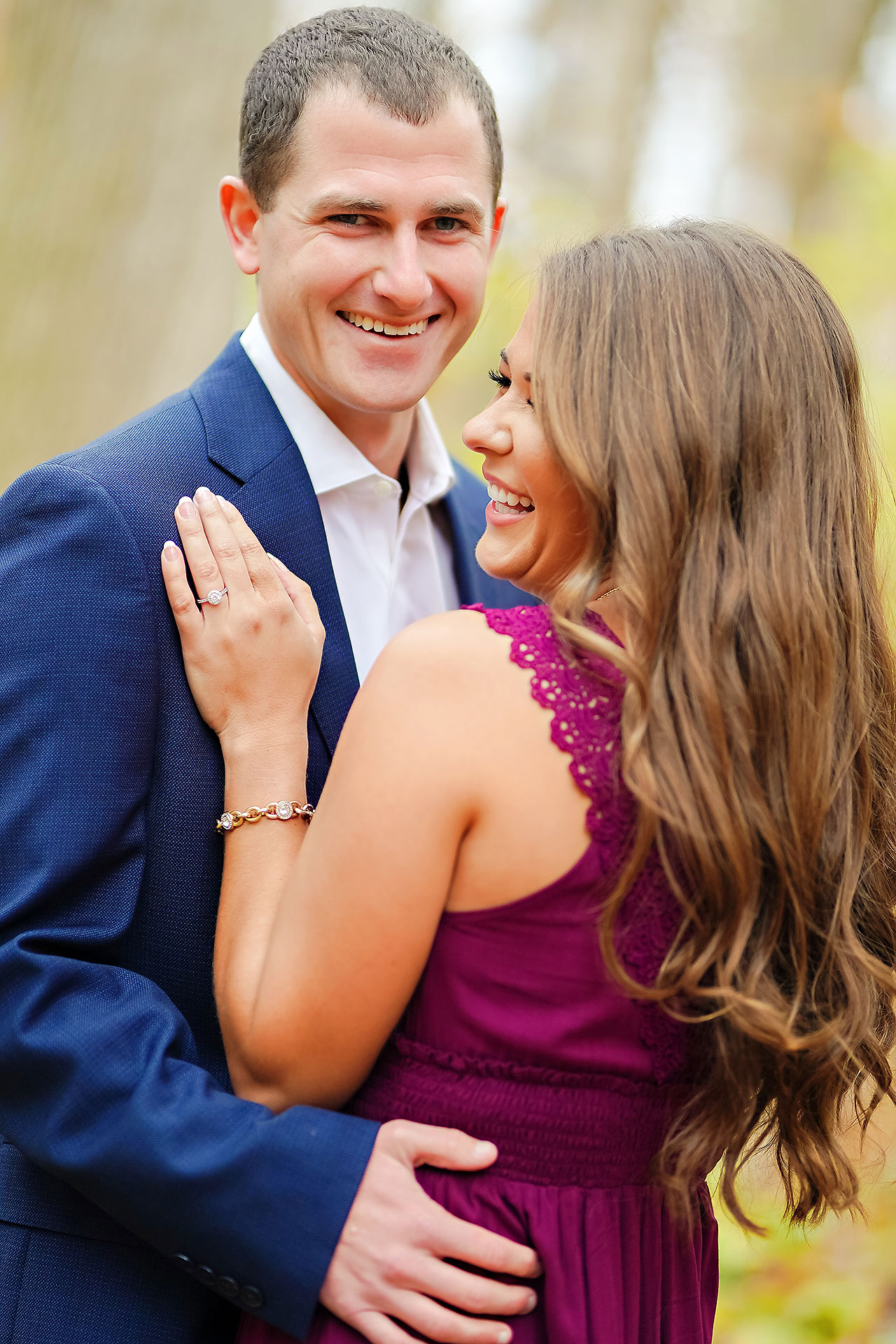 Sarah Andrew Holcomb Gardens Zionsville Engagement Session 016