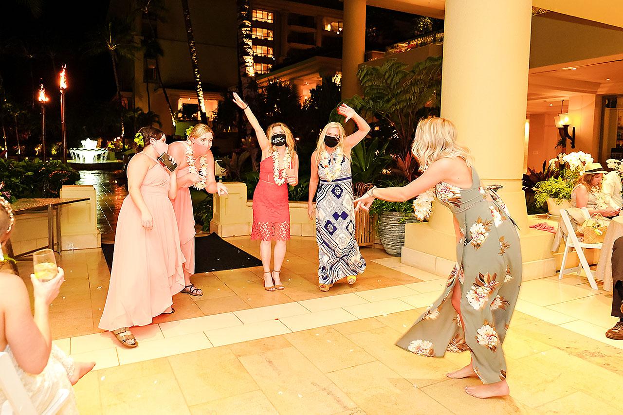 Kendra Pete Four Seasons Maui Wedding 370