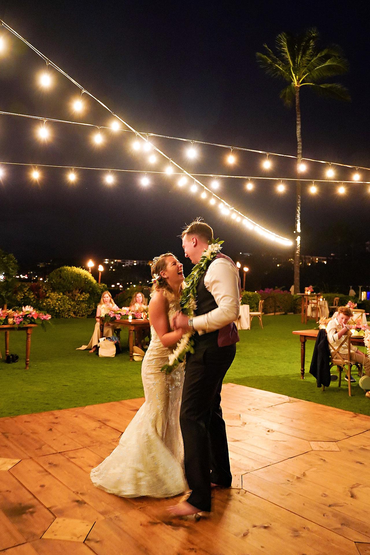 Kendra Pete Four Seasons Maui Wedding 293