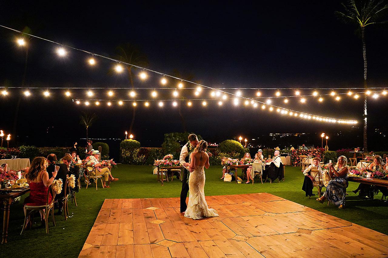 Kendra Pete Four Seasons Maui Wedding 289