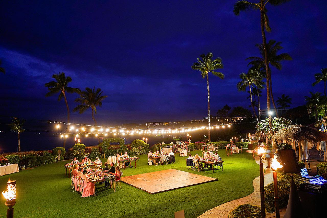 Kendra Pete Four Seasons Maui Wedding 280