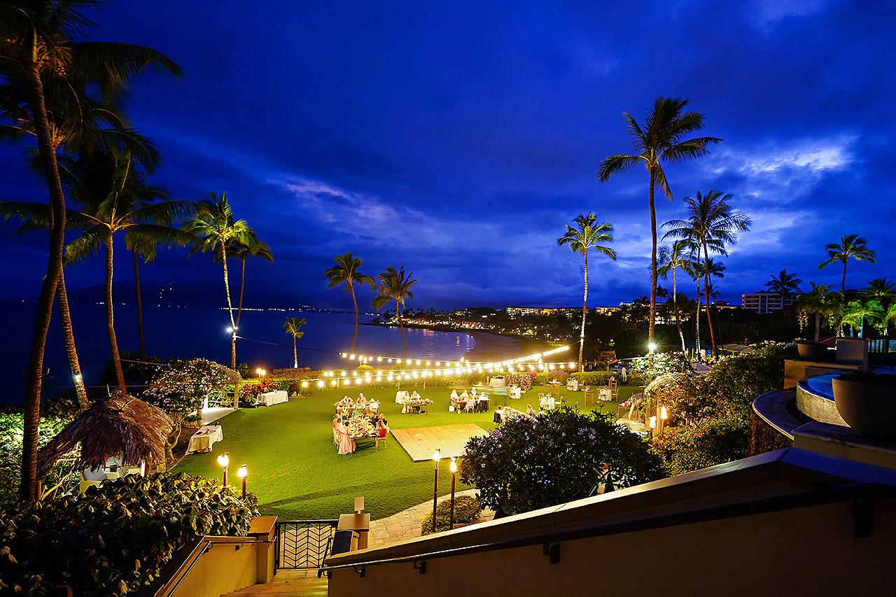 Kendra Pete Four Seasons Maui Wedding 276