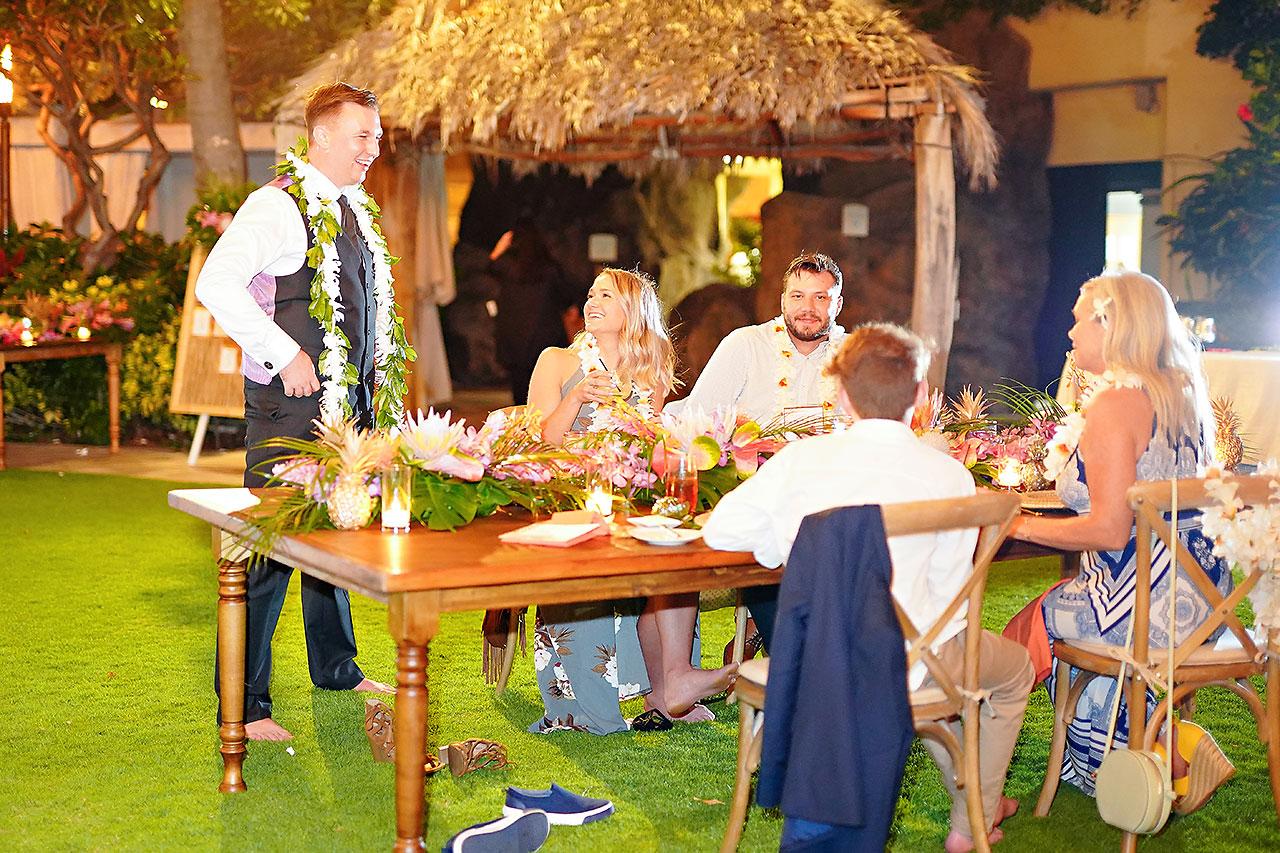 Kendra Pete Four Seasons Maui Wedding 277