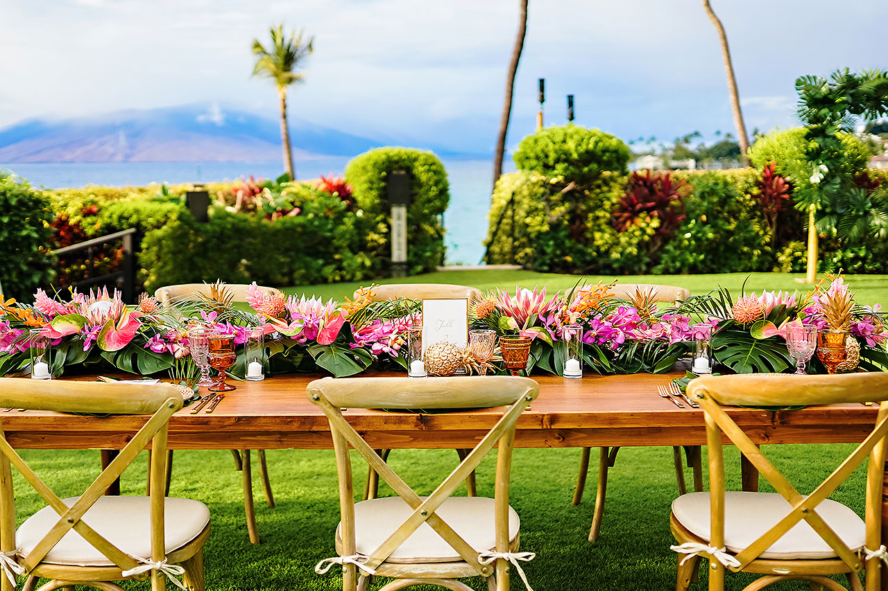 Kendra Pete Four Seasons Maui Wedding 239