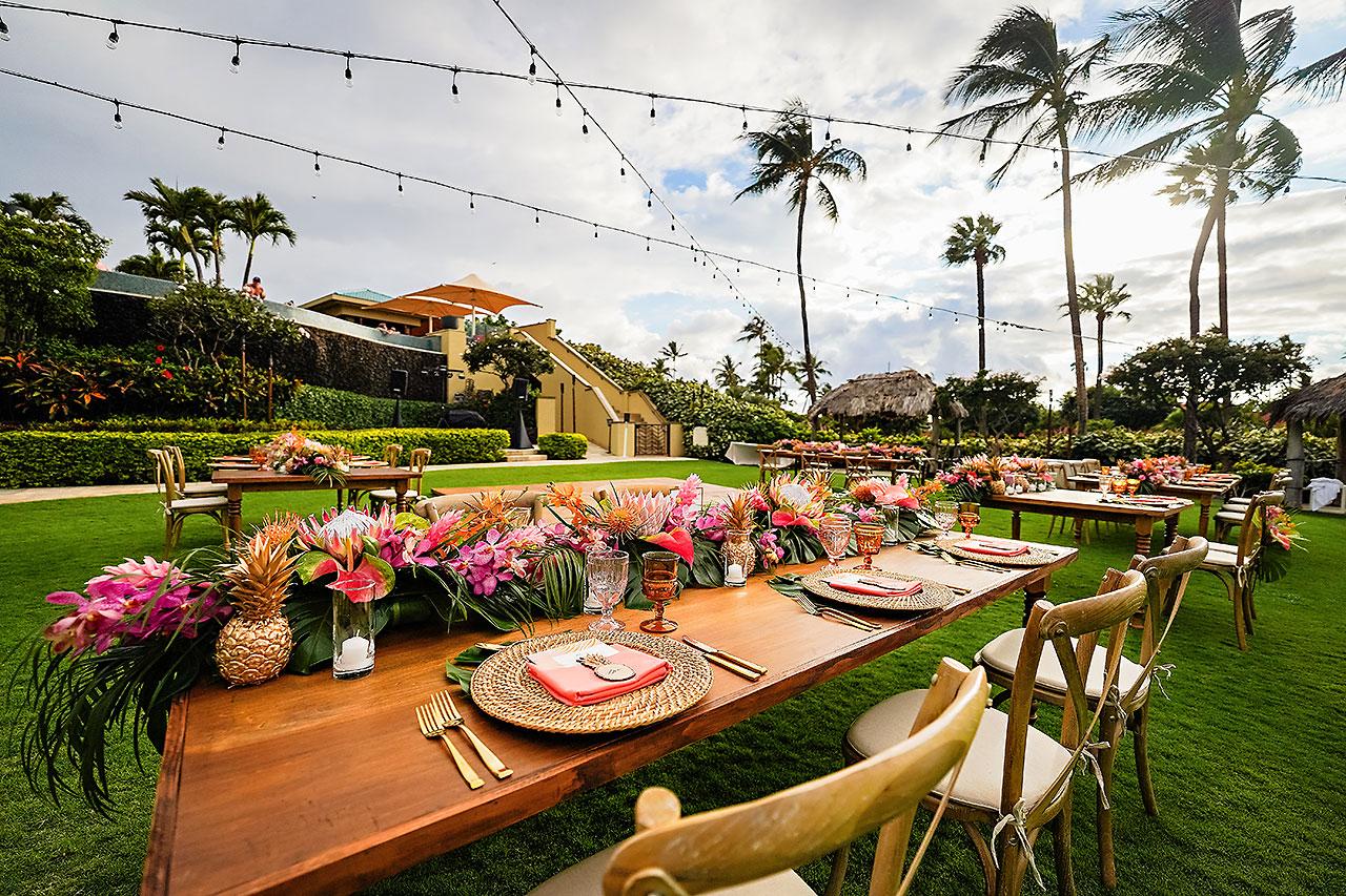 Kendra Pete Four Seasons Maui Wedding 236