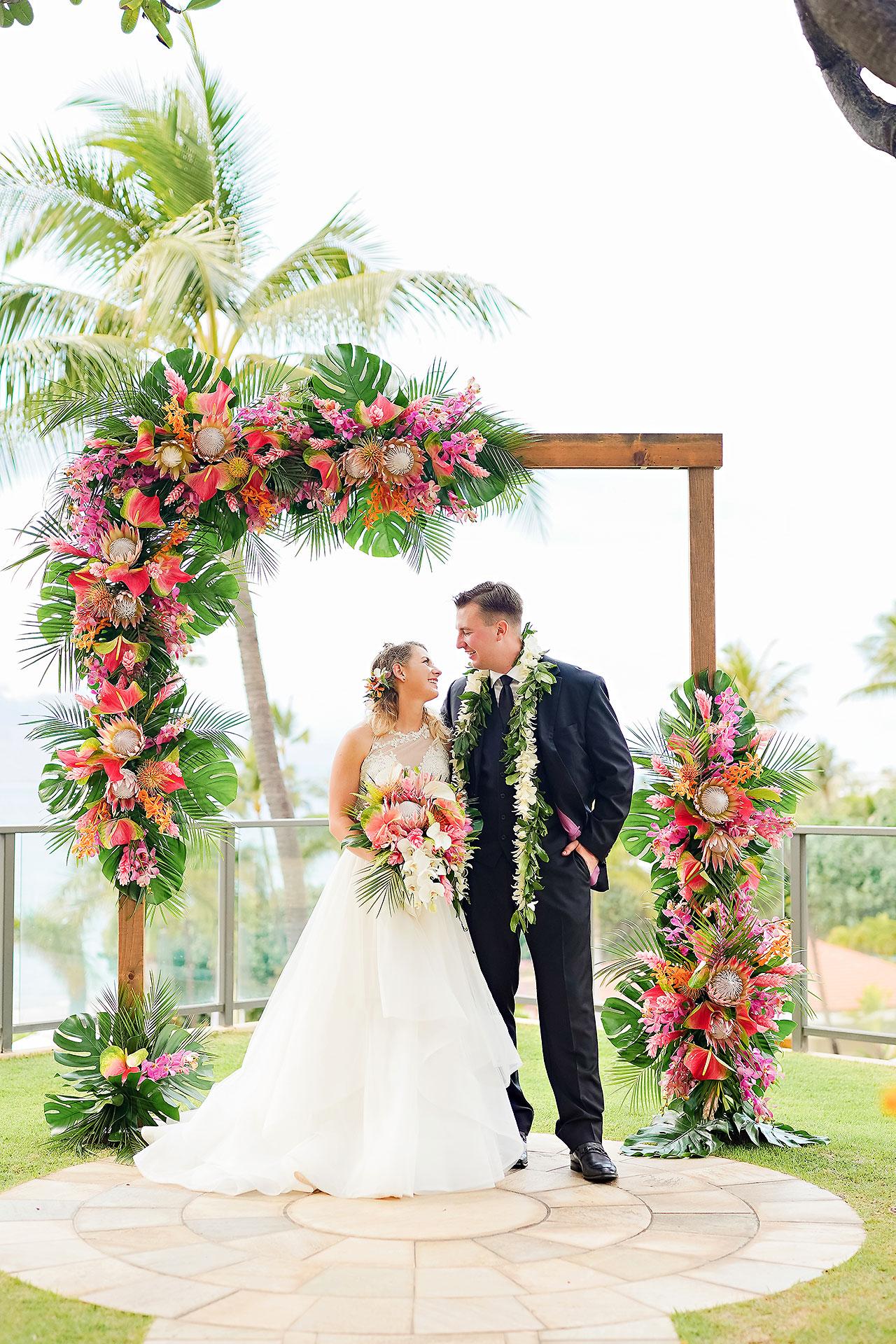 Kendra Pete Four Seasons Maui Wedding 195