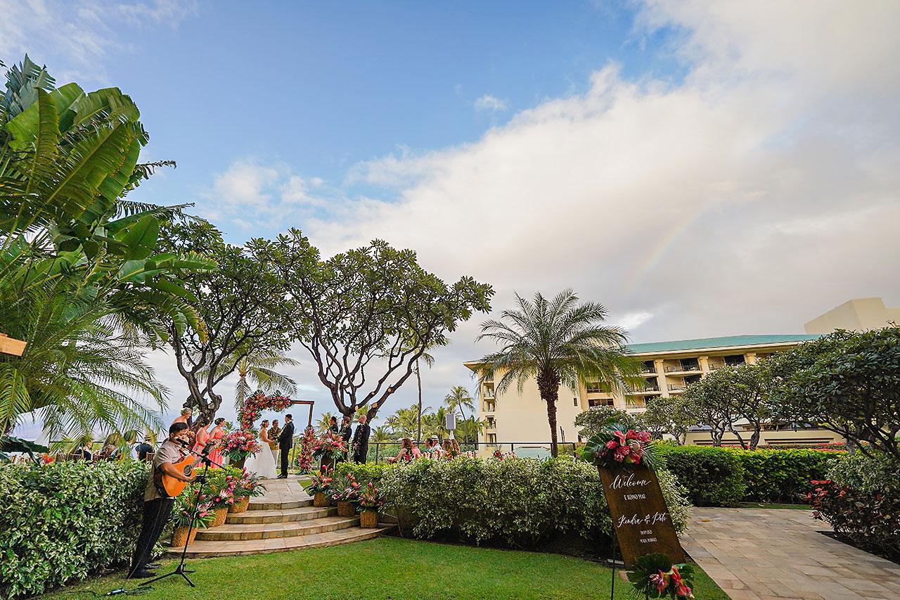 Kendra Pete Four Seasons Maui Wedding 179