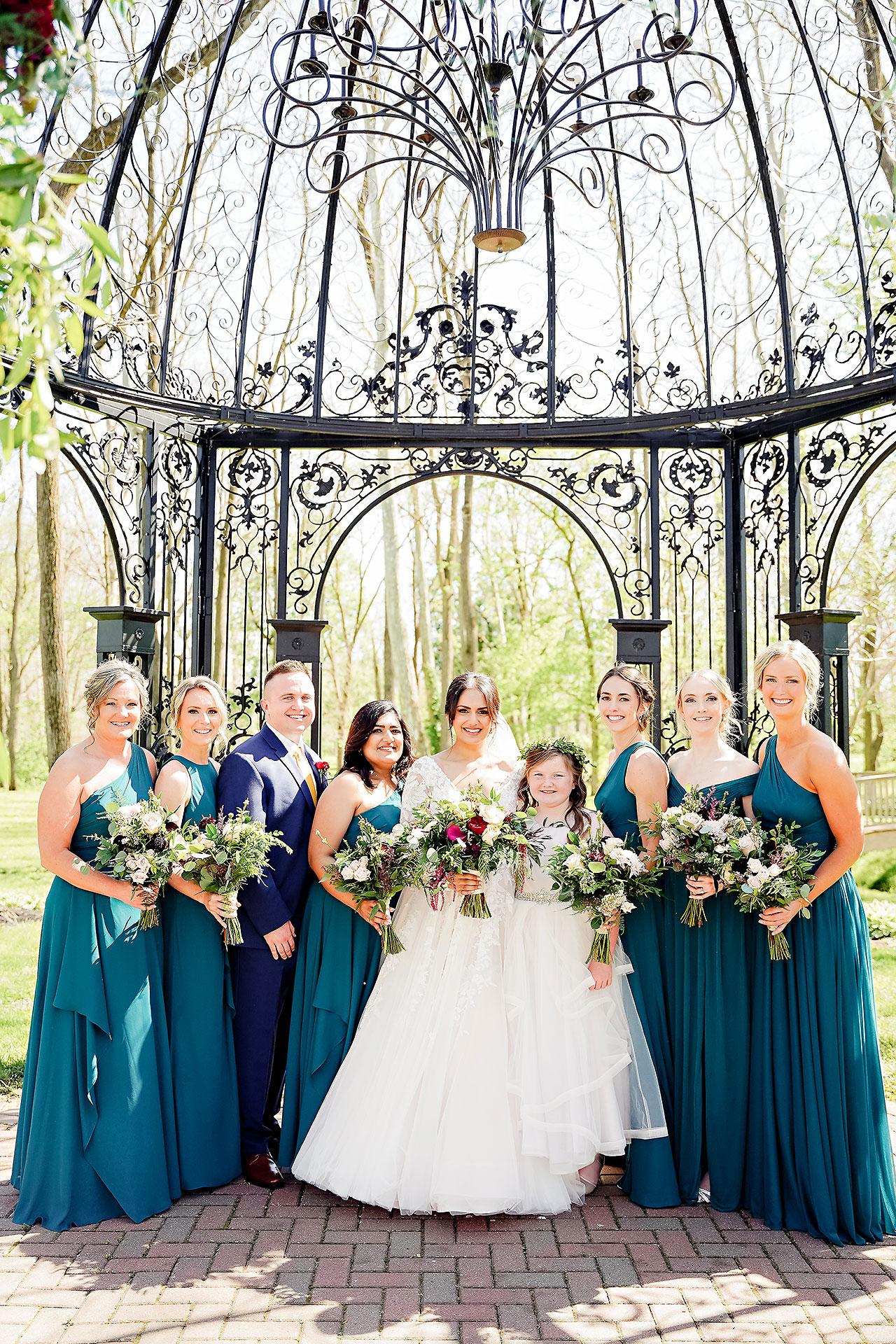 Nadia Parker Black Iris Estate Carmel Indiana Wedding May 2021 109