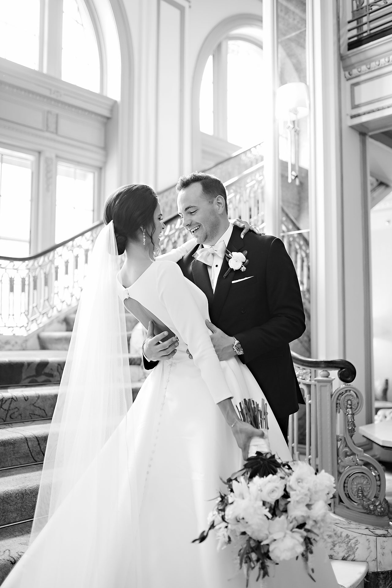Kaitlin Collin Scottish Rite Indianapolis Wedding 093